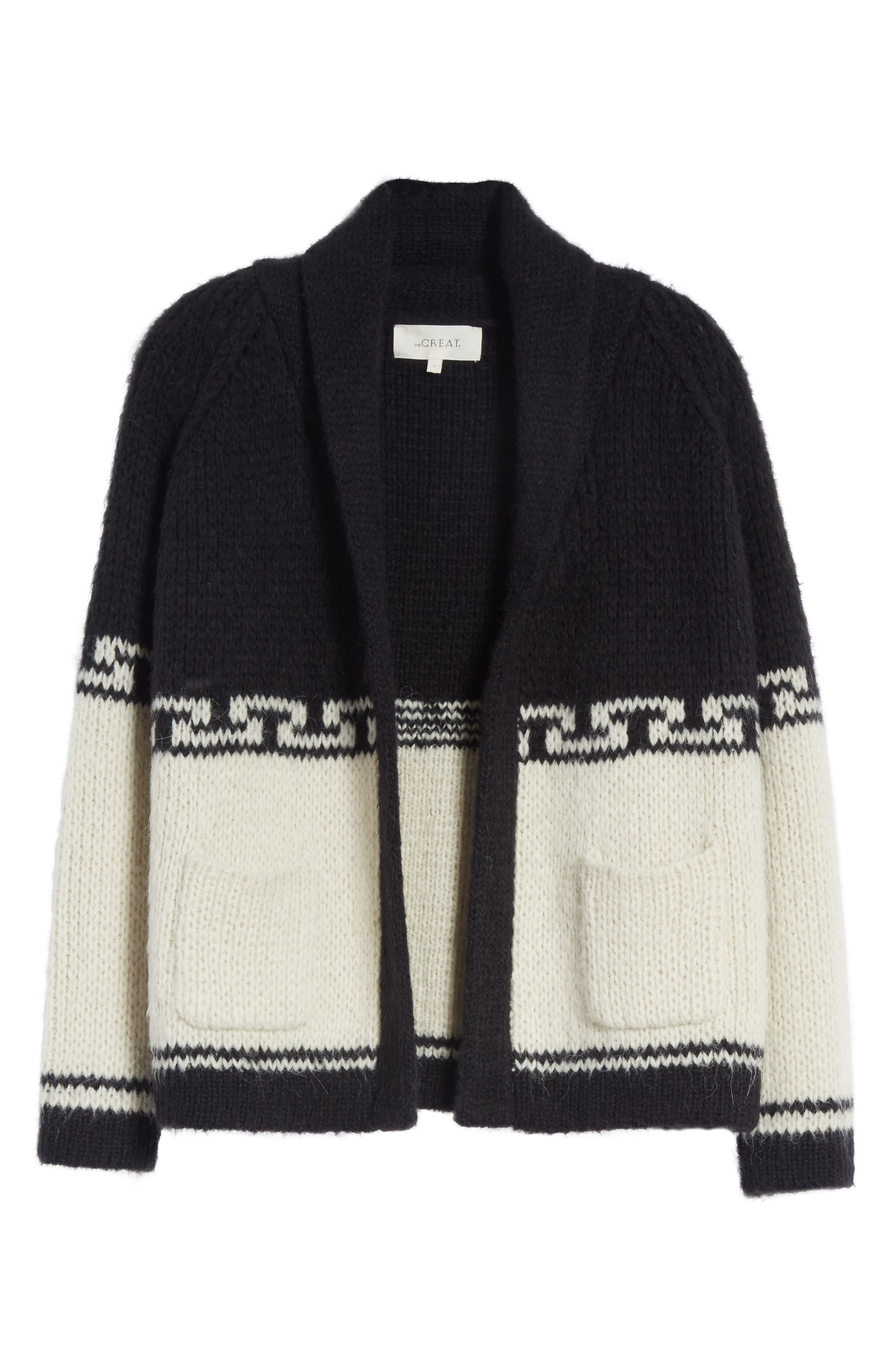Alternate Image 7  - THE GREAT. The Lodge Cardigan