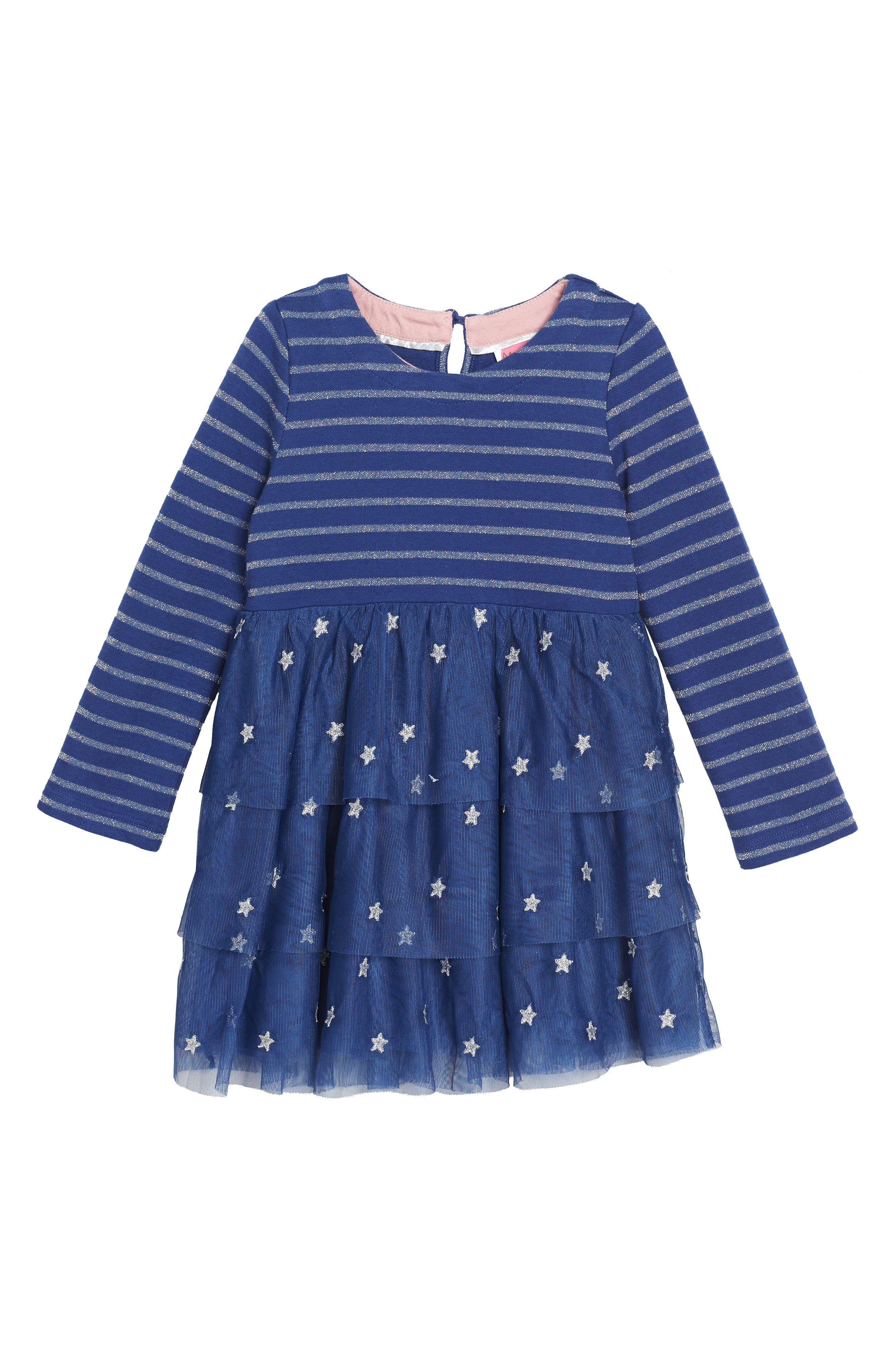 Mini Boden Sparkly Party Dress (Toddler Girls, Little Girls & Big Girls)