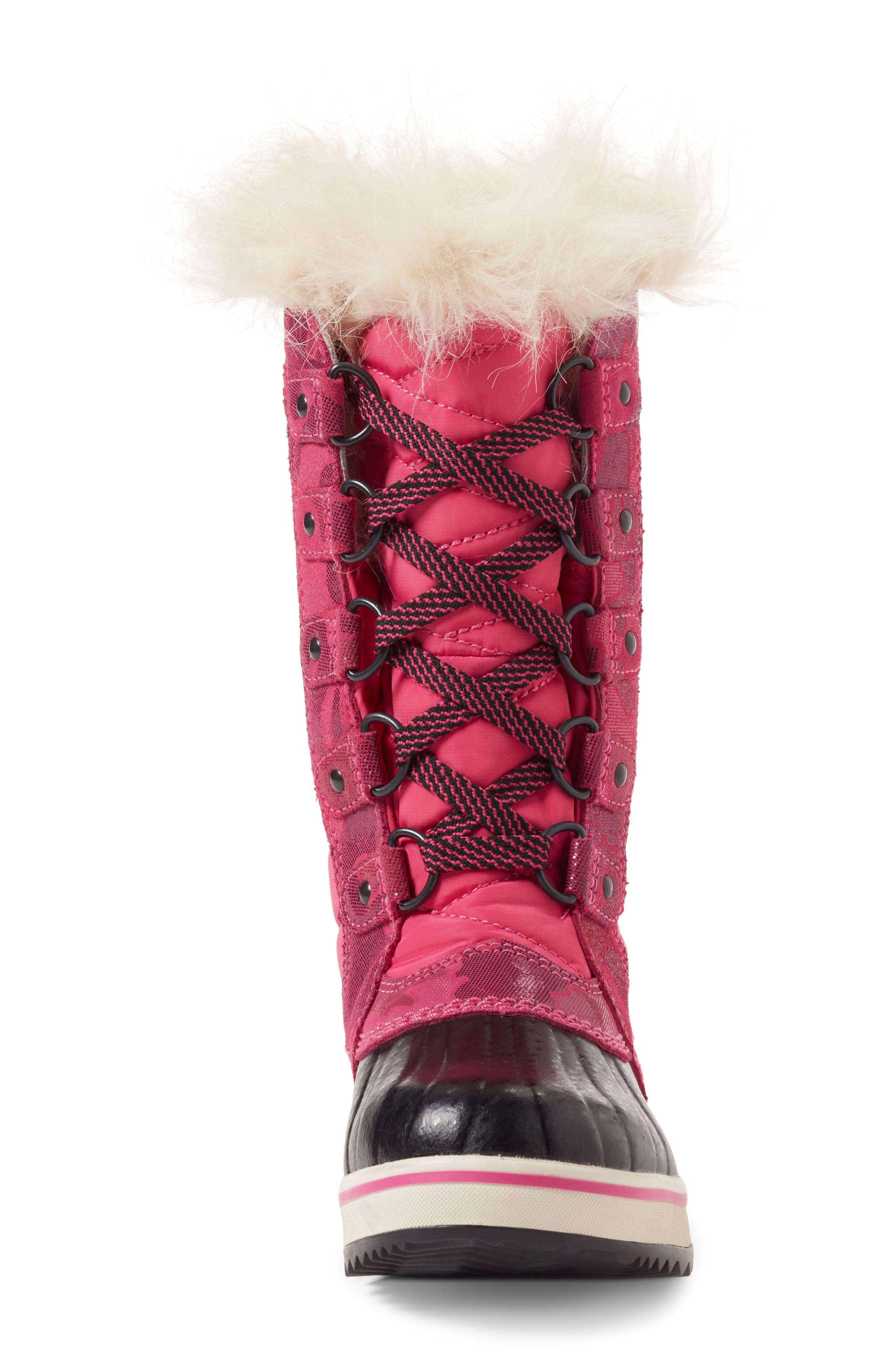 Alternate Image 4  - SOREL Tofino II Faux Fur Lined Waterproof Boot (Little Kid & Big Kid)