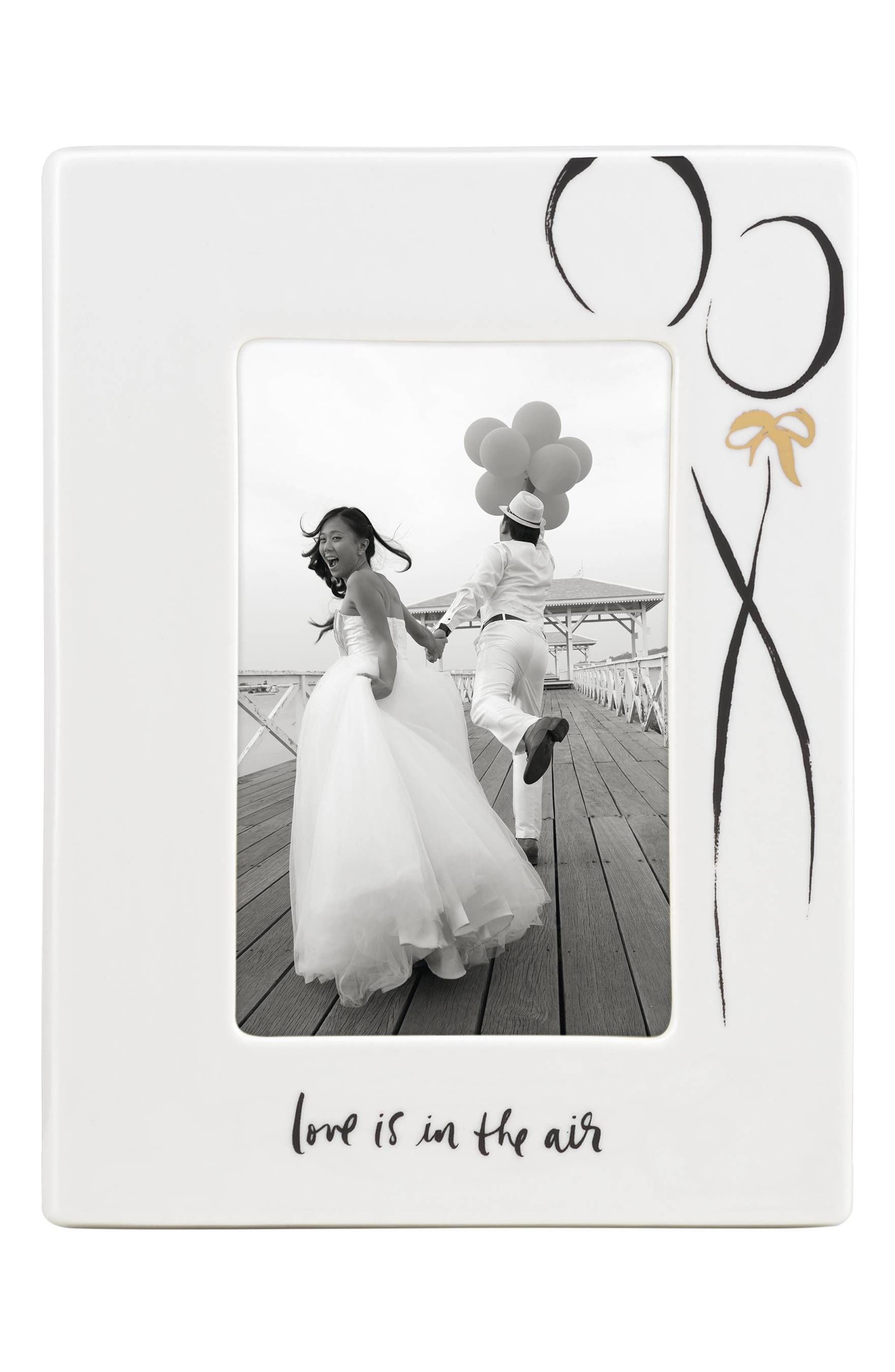 love is in the air frame,                         Main,                         color, White