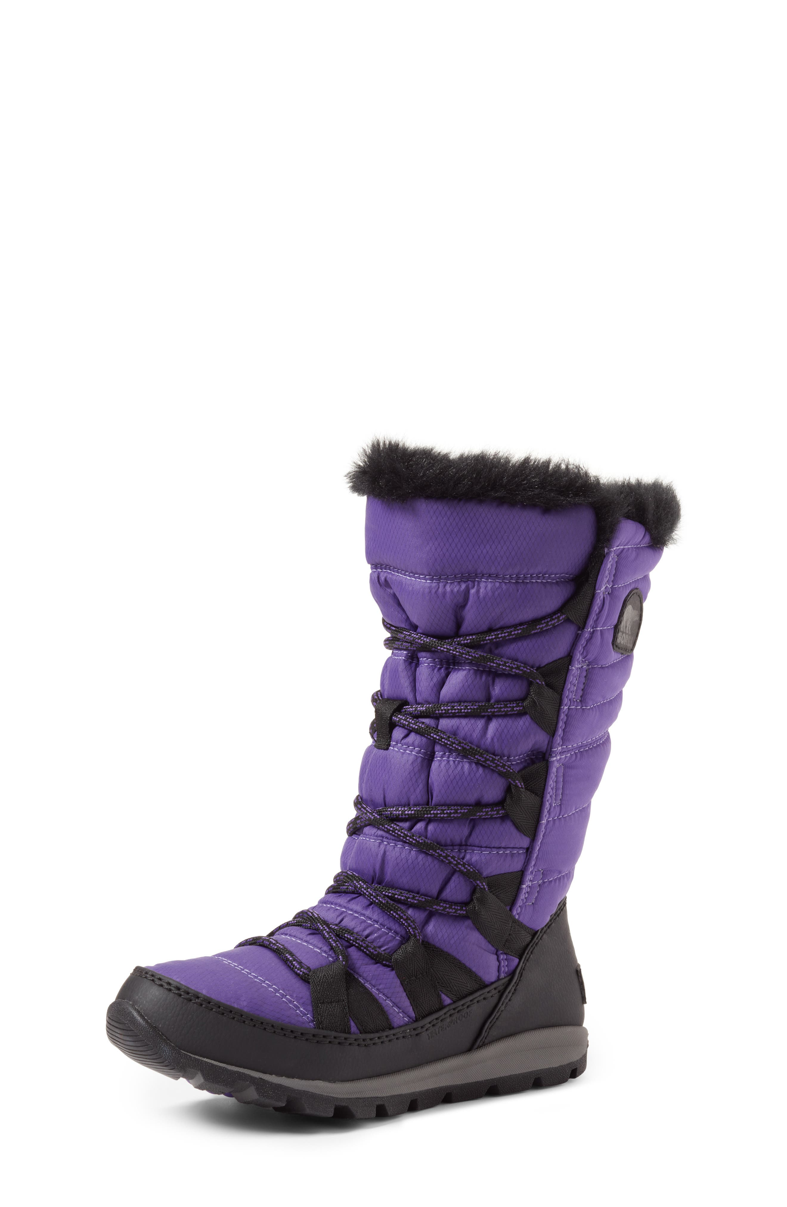 SOREL Whitney Waterproof Insulated Snow Boot (Little Kid & Big Kid)