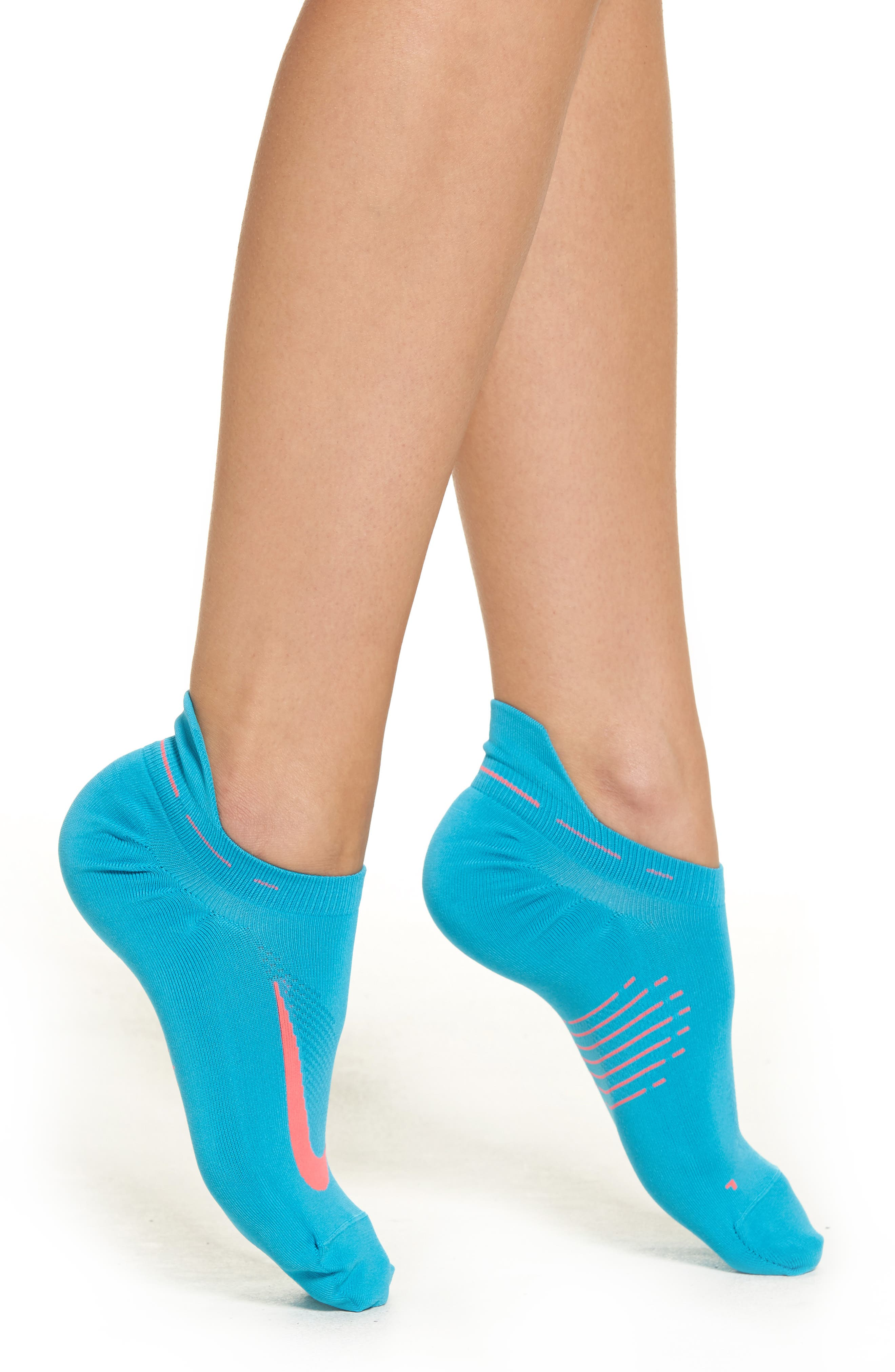 Nike 'Elite' No-Show Running Socks (Women)