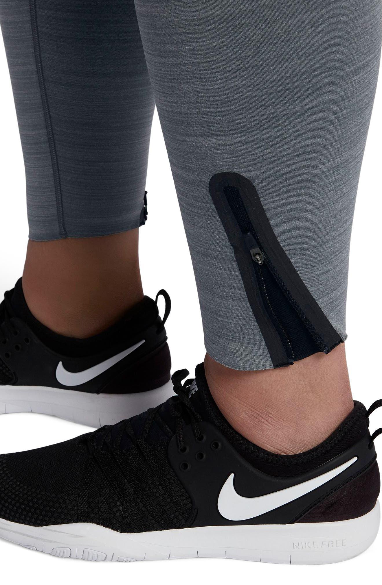 Alternate Image 4  - Nike Legendary Training Tights (Plus Size)