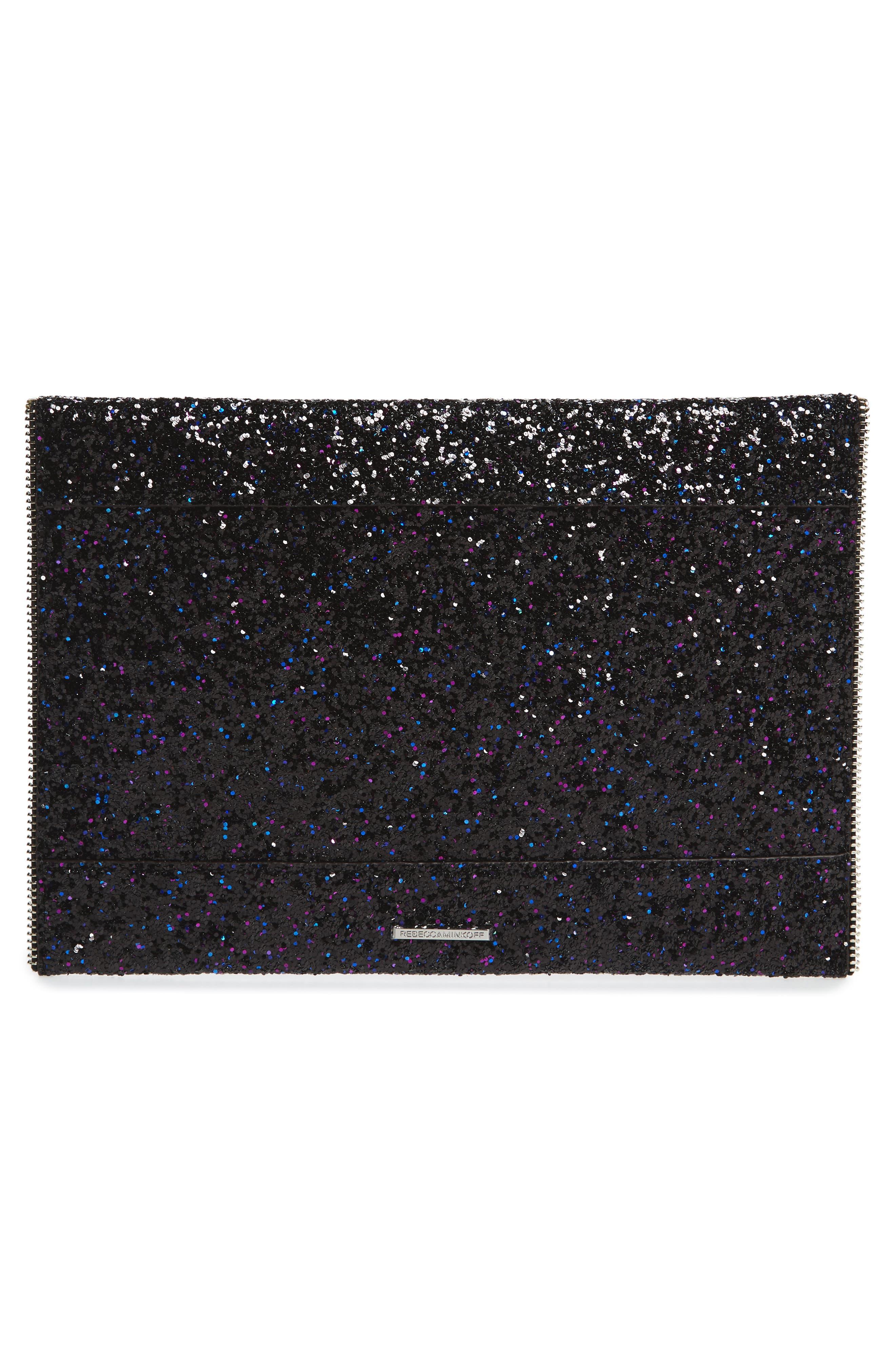 Alternate Image 3  - Rebecca Minkoff Leo Glitter Envelope Clutch