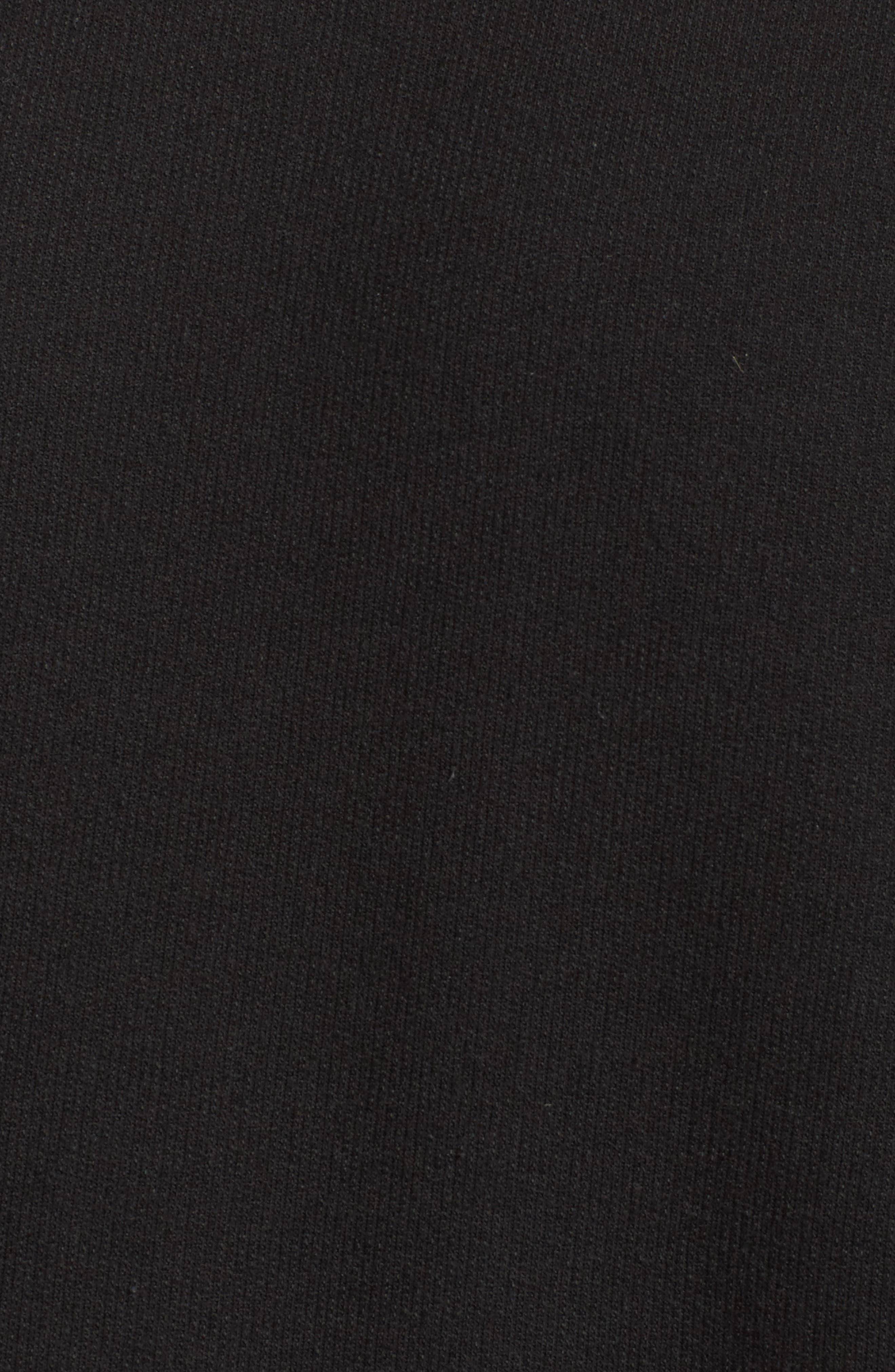 Soph Lounge Sweater,                             Alternate thumbnail 7, color,                             Plain Black Marle