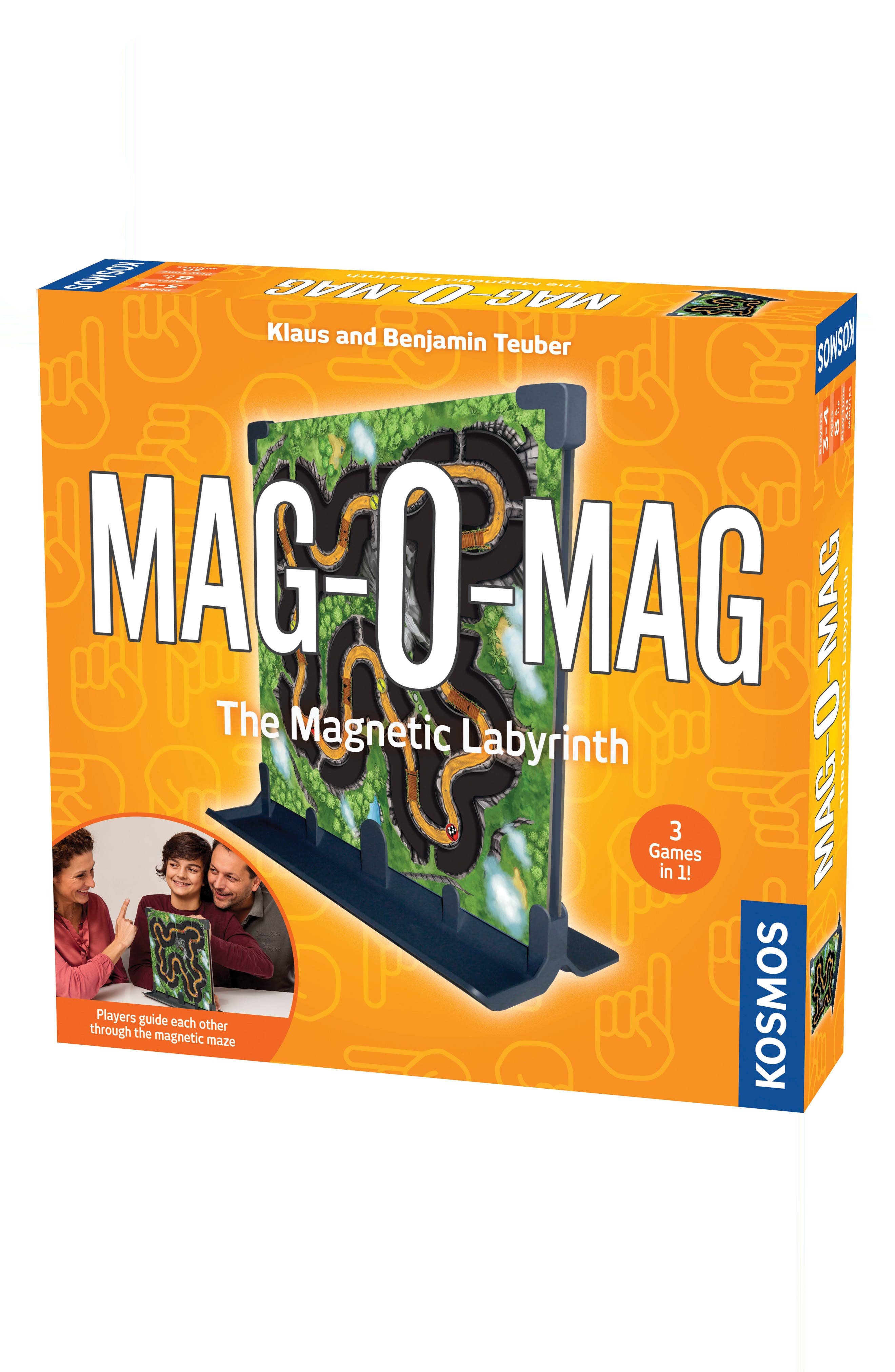 Mag-O-Mag Magnetic Labyrinth Game,                         Main,                         color, Multi