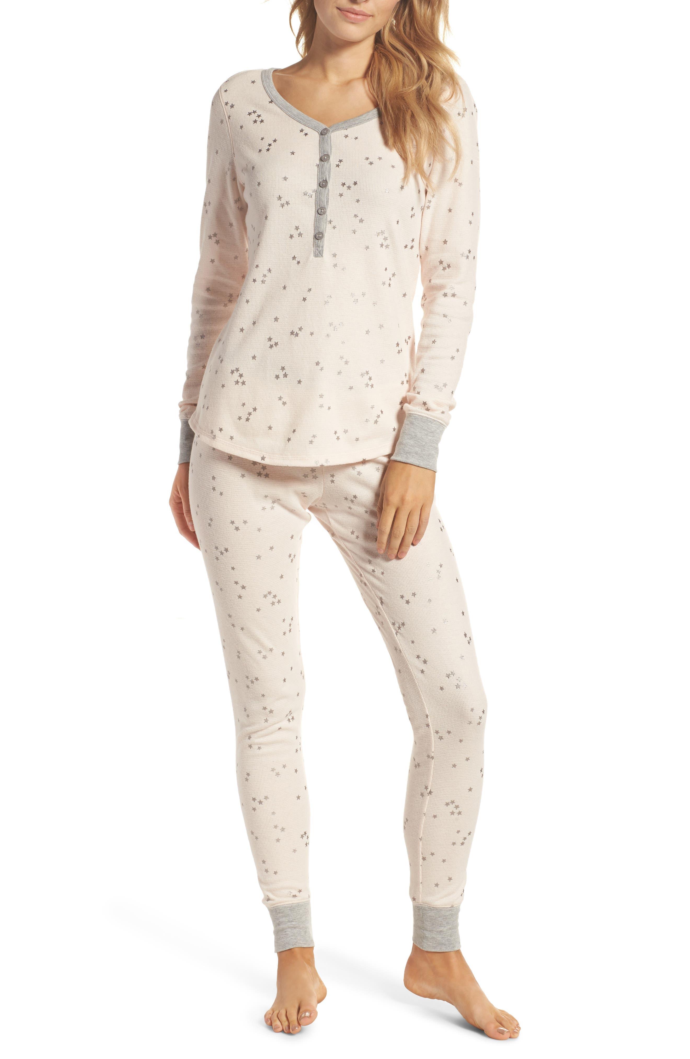 Nordstrom Lingerie Sleepyhead Thermal Pajamas