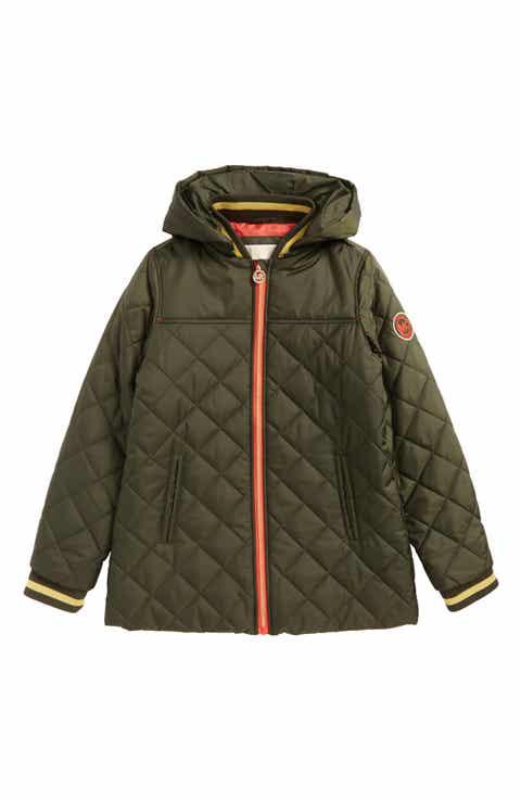 Girls' Green Coats, Jackets & Outerwear: Rain, Fleece & Hood ...