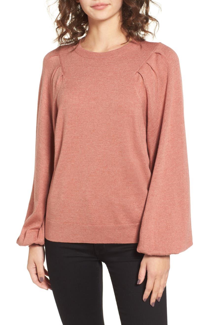 Women's Orange Sweaters   Nordstrom