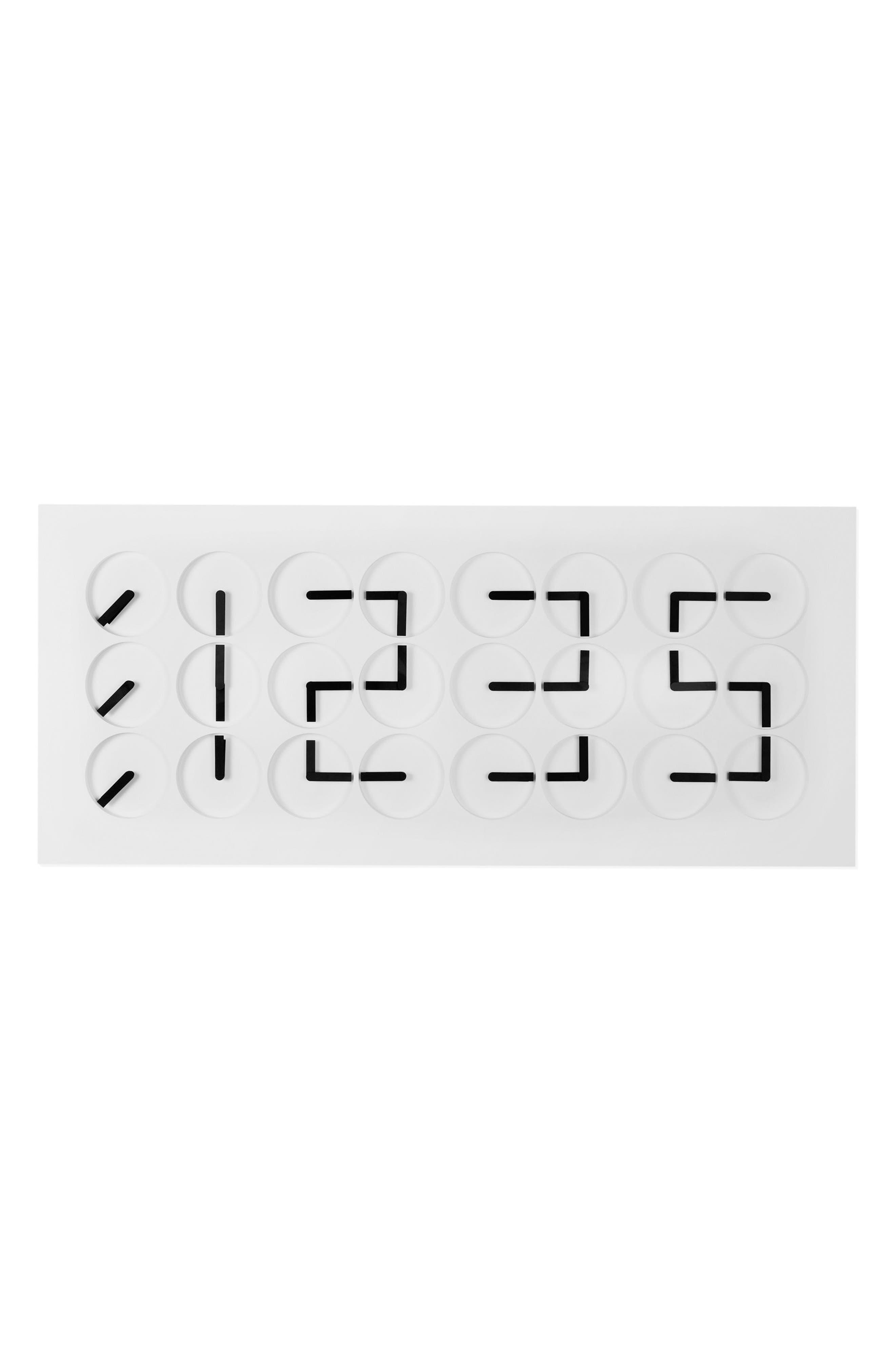 ClockClock 24 Digital Clock,                         Main,                         color, White