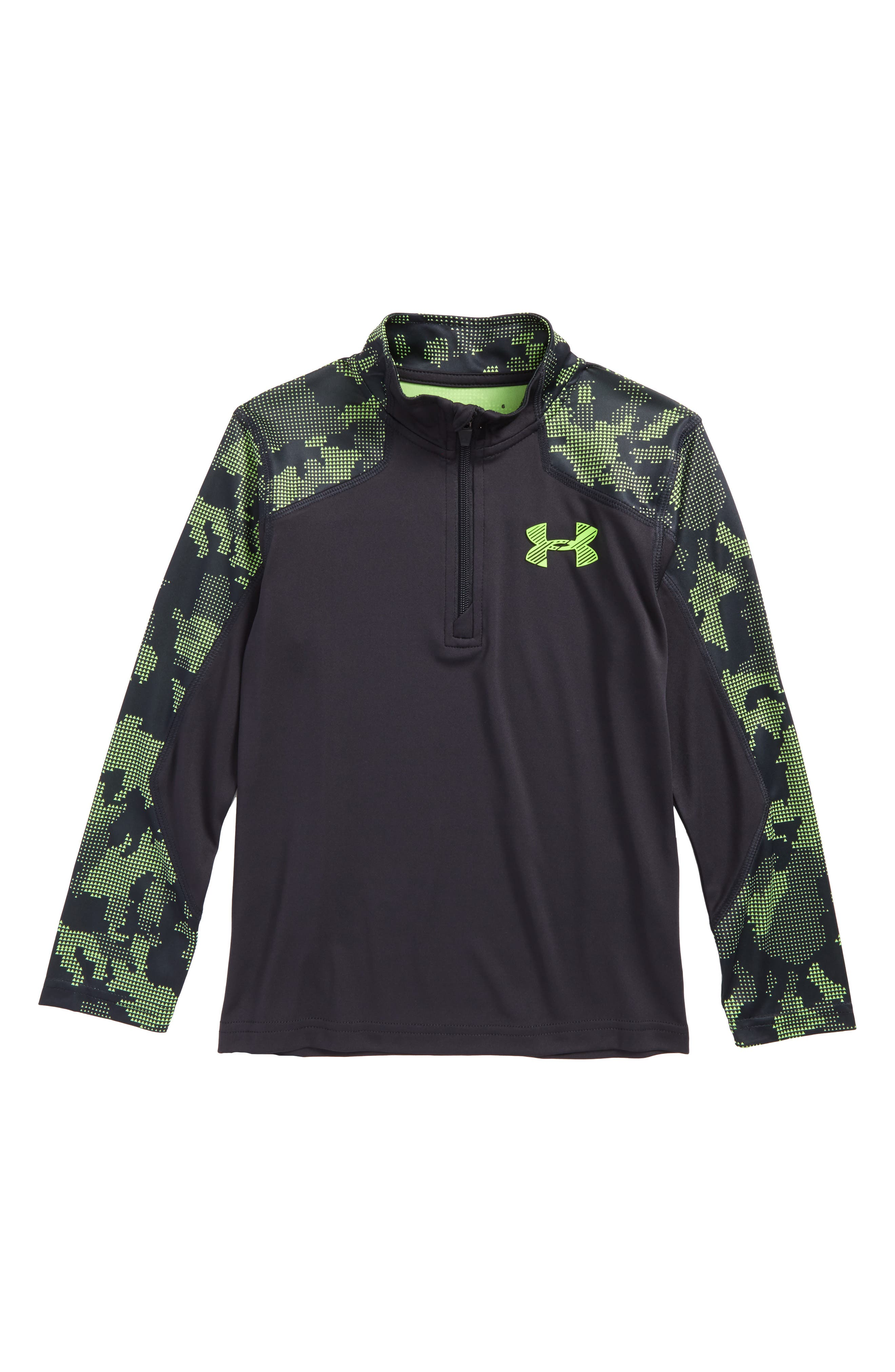Main Image - Under Armour Utility Quarter Zip Pullover (Toddler Boys & Little Boys)