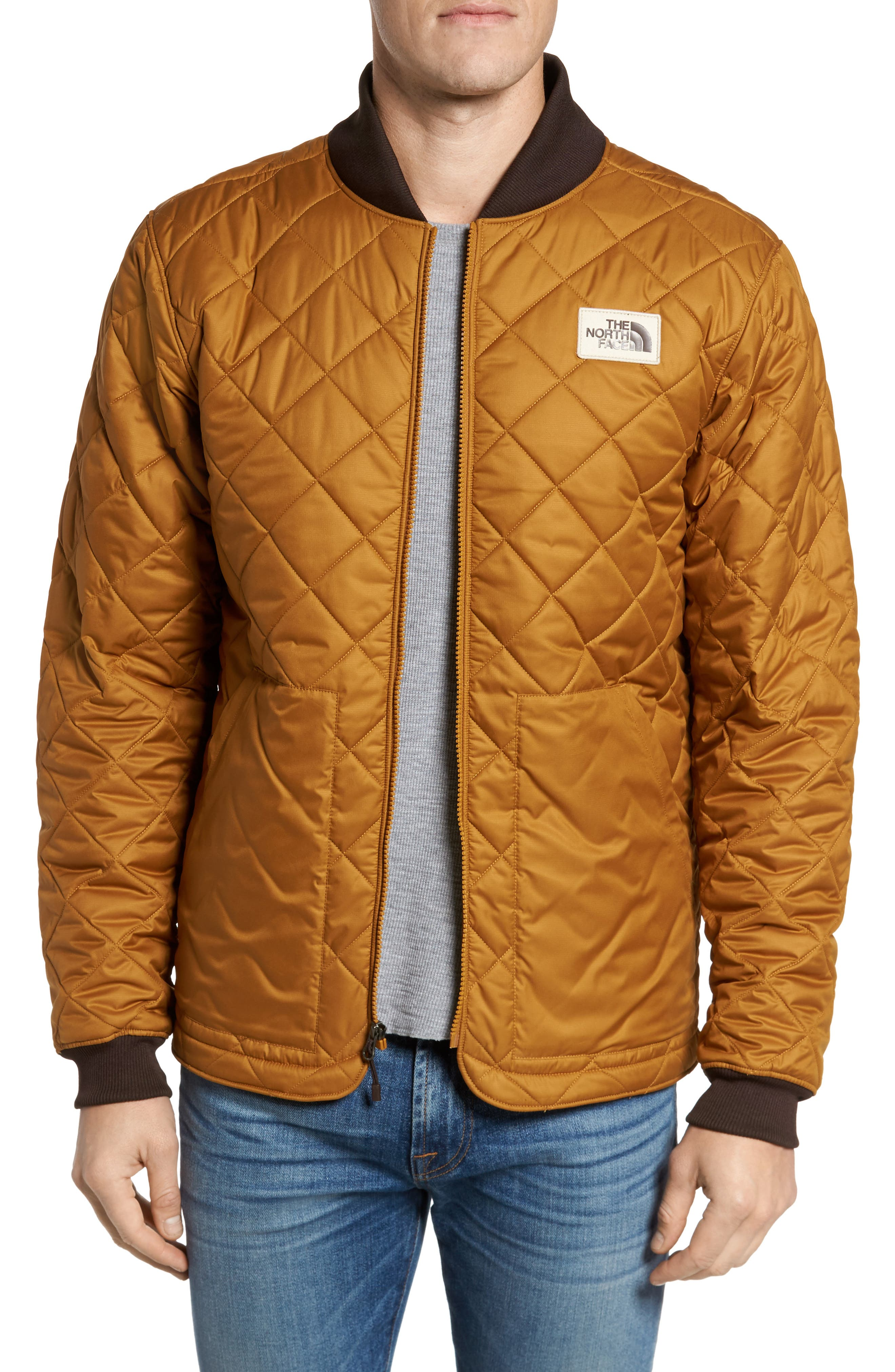 Cuchillo Insulated Jacket,                             Main thumbnail 1, color,                             Golden Brown