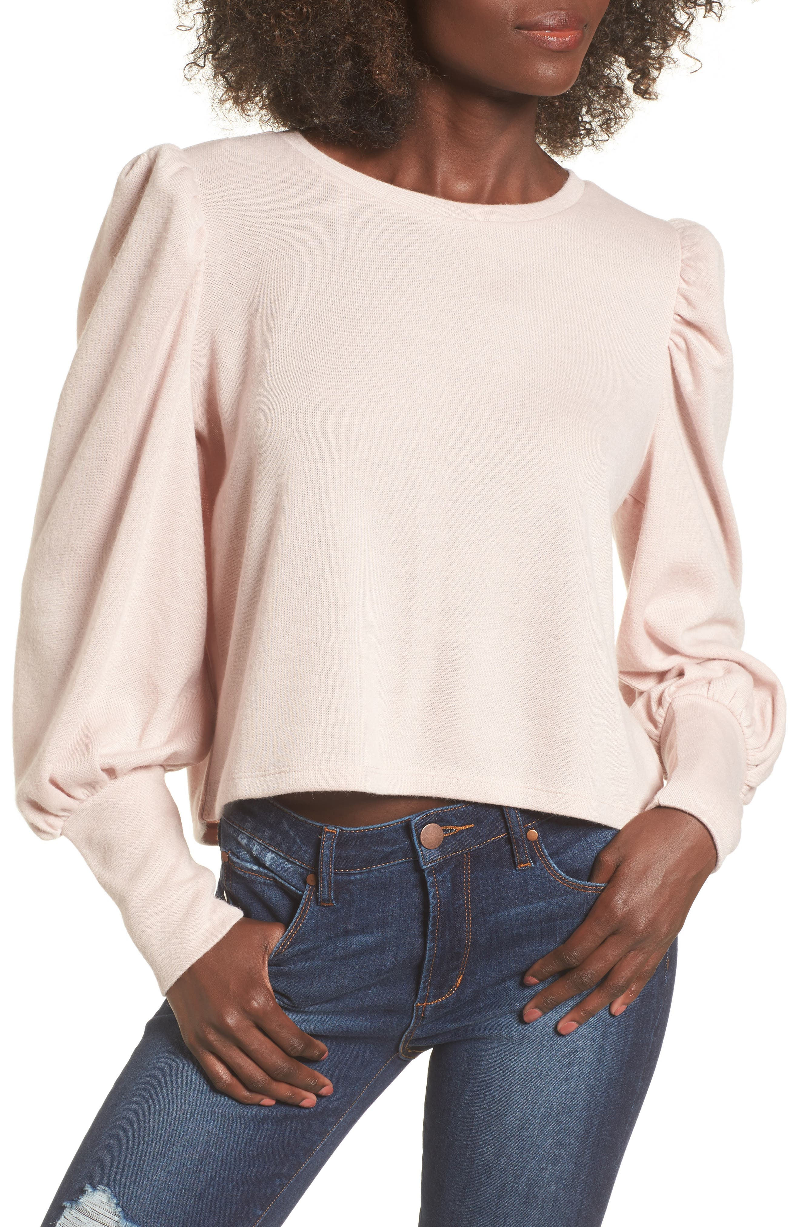 Leith Bloused Sleeve Sweater