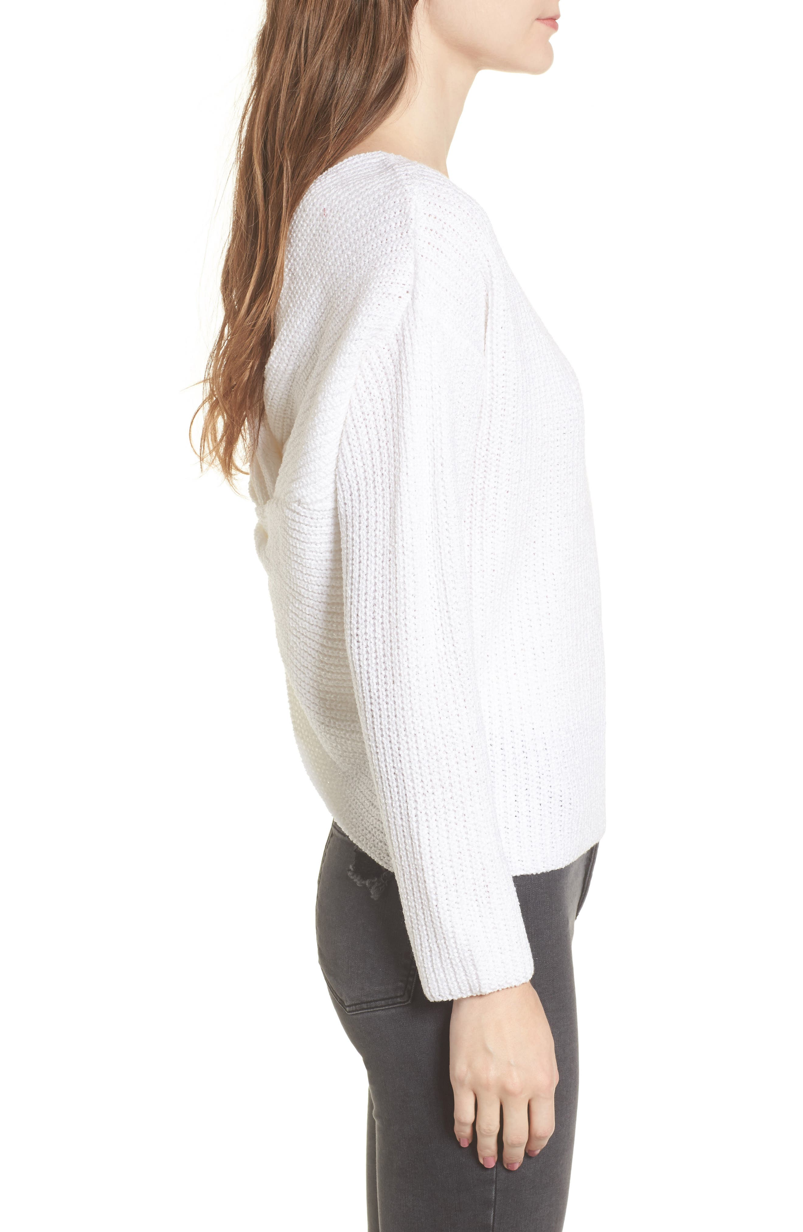 Alternate Image 3  - ASTR the Label Twist Back Sweater