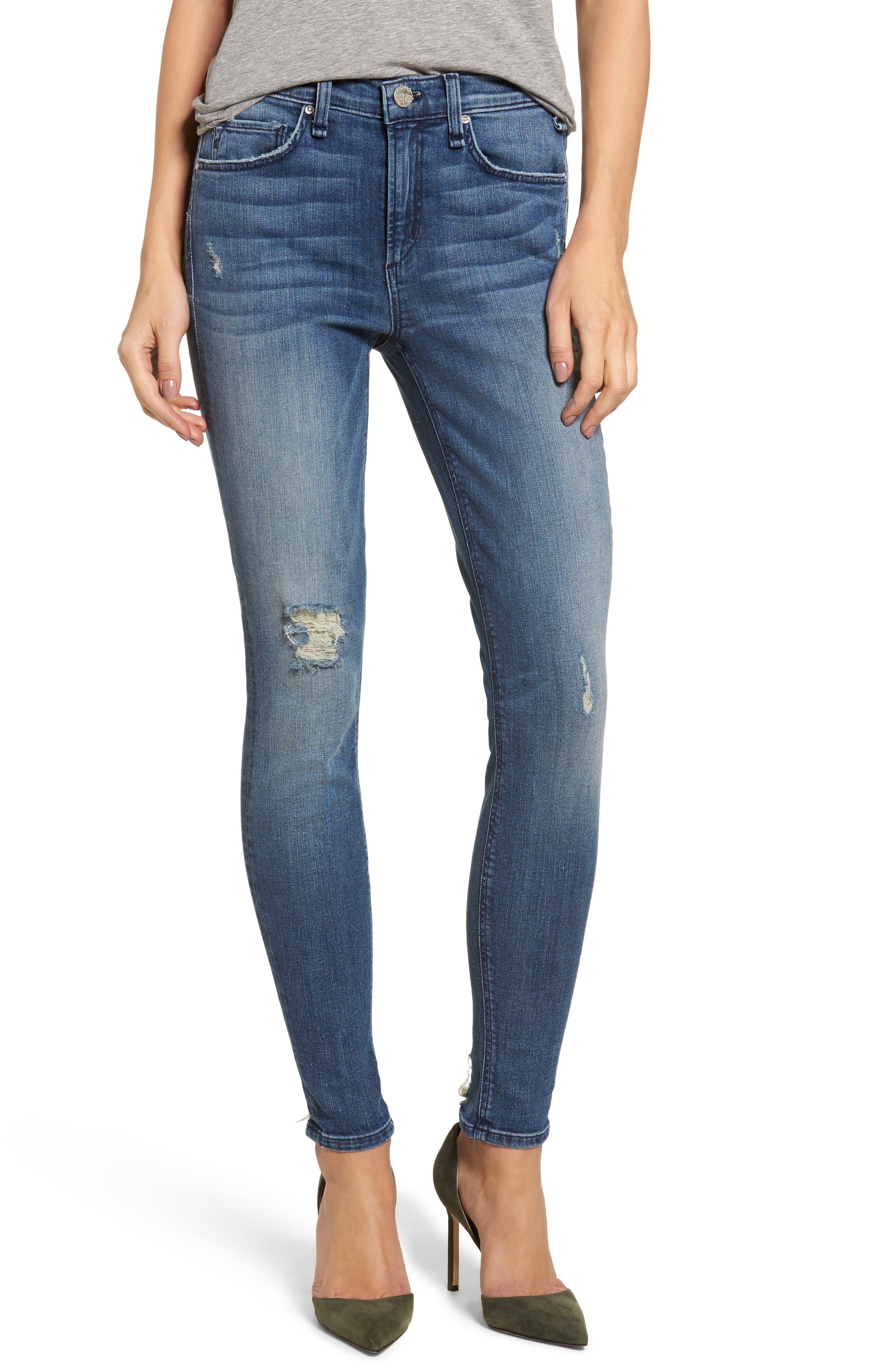 McGuire Newton High Waist Skinny Jeans (Lumene)