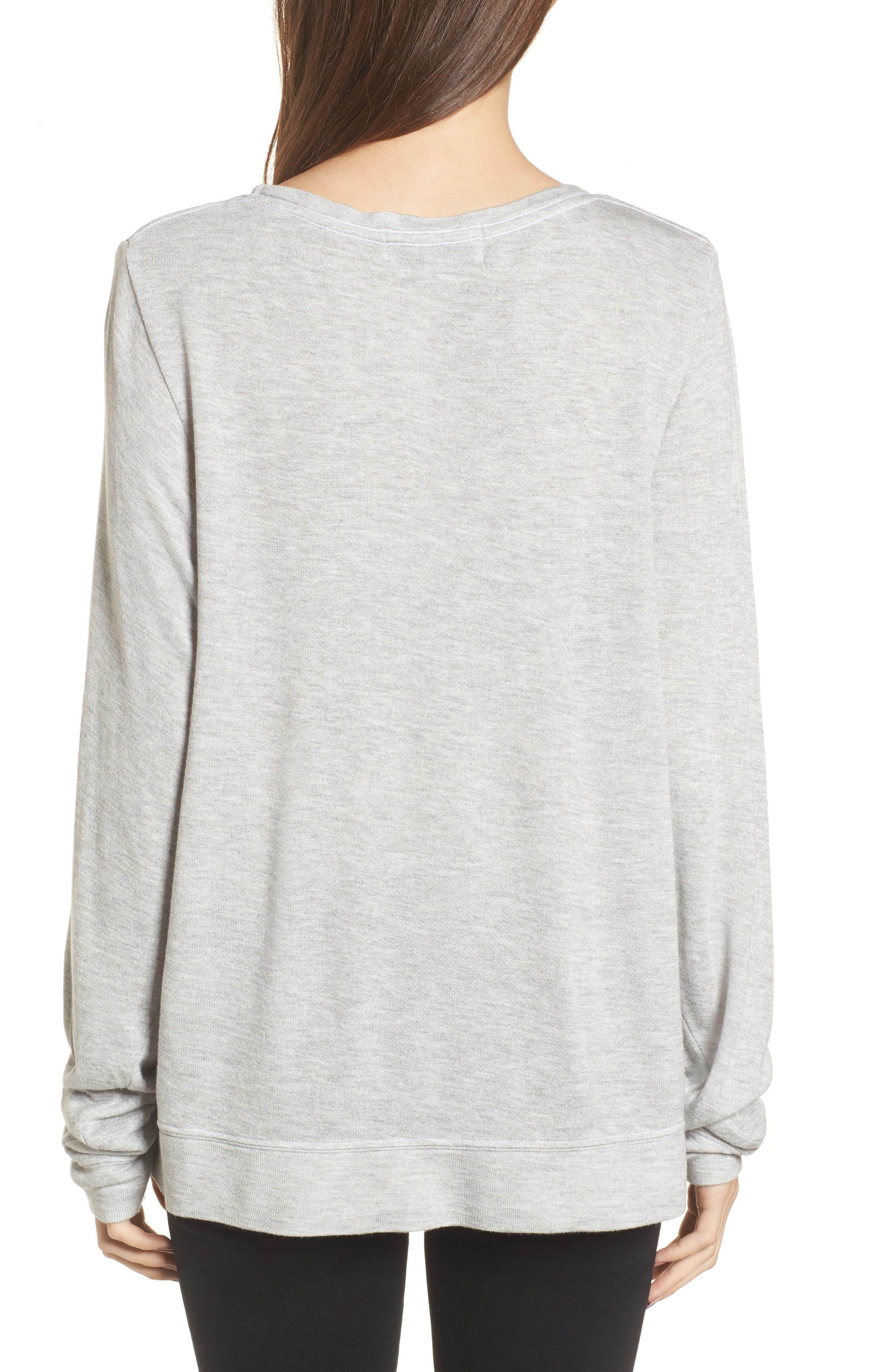 Alternate Image 2  - Wildfox Loved Sweatshirt