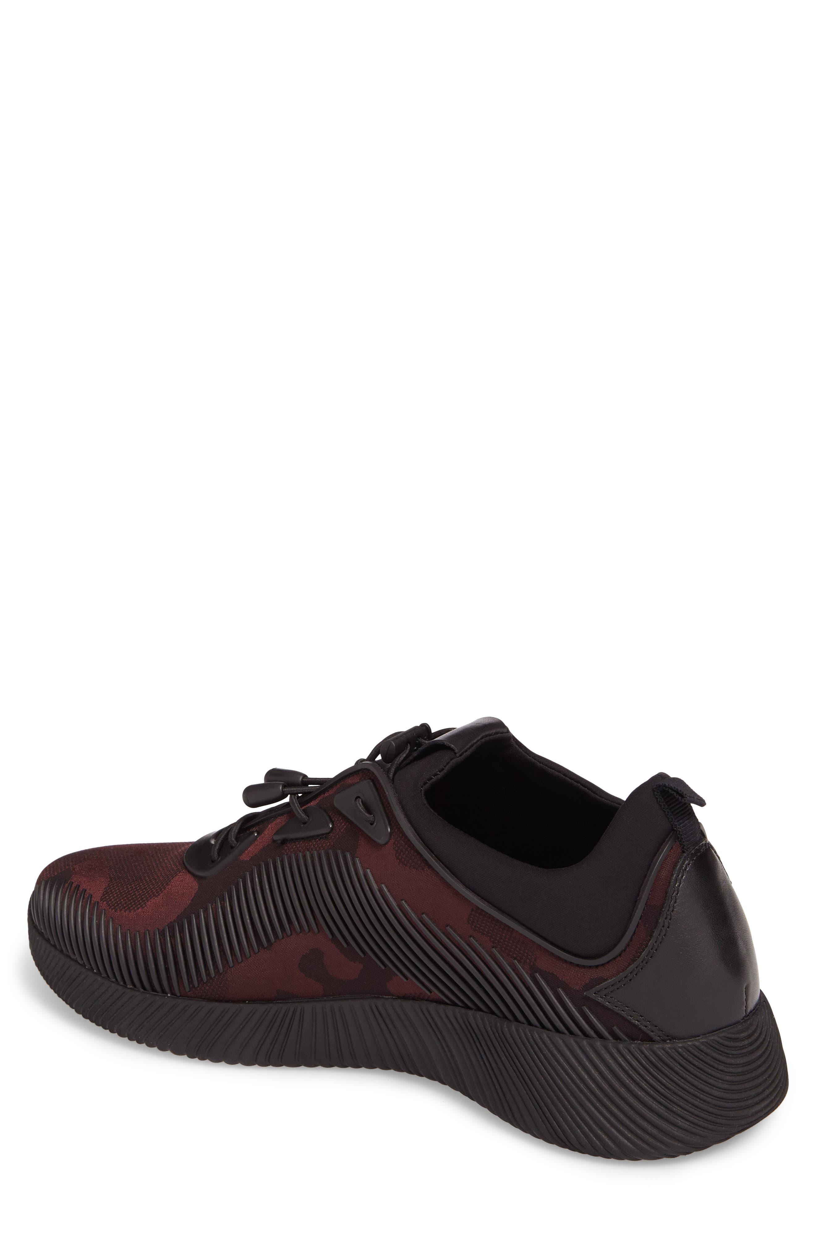 Sinch Sneaker,                             Alternate thumbnail 2, color,                             Bordeaux Fabric