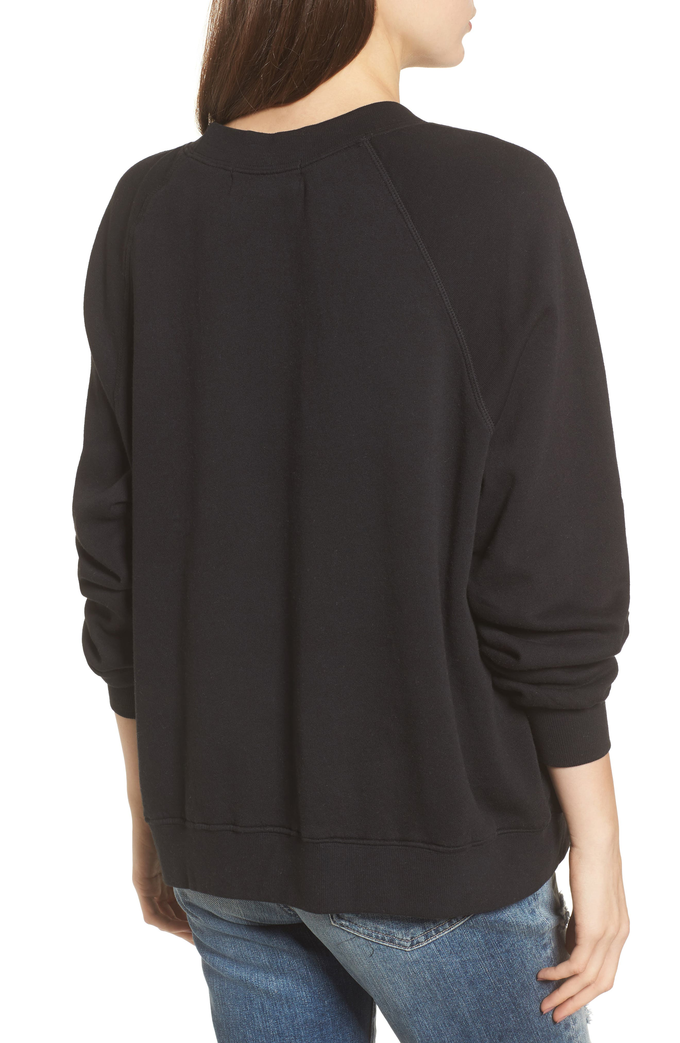 Wino - Sommers Sweatshirt,                             Alternate thumbnail 2, color,                             Black