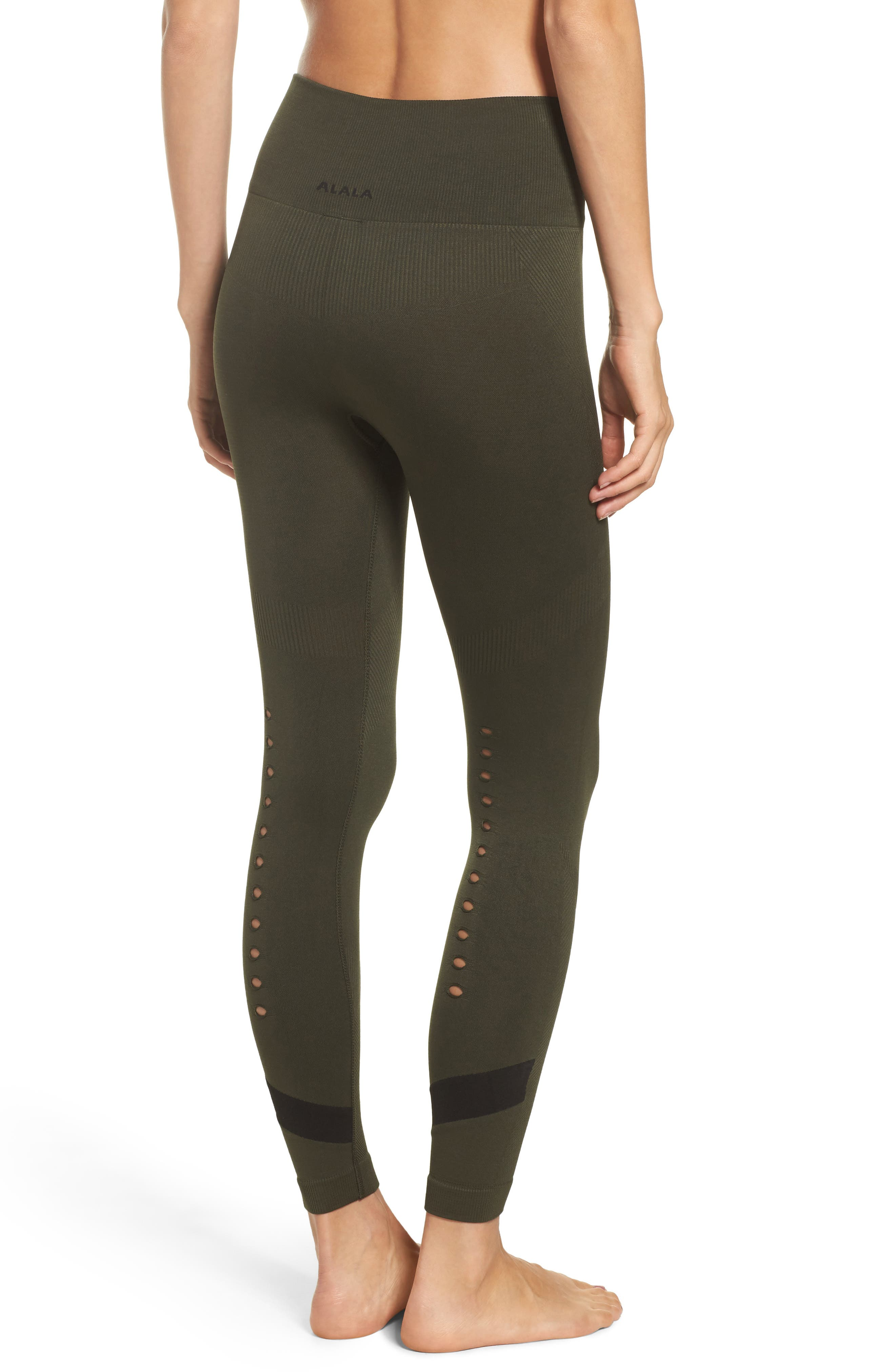 Niche Tights,                             Alternate thumbnail 2, color,                             Army