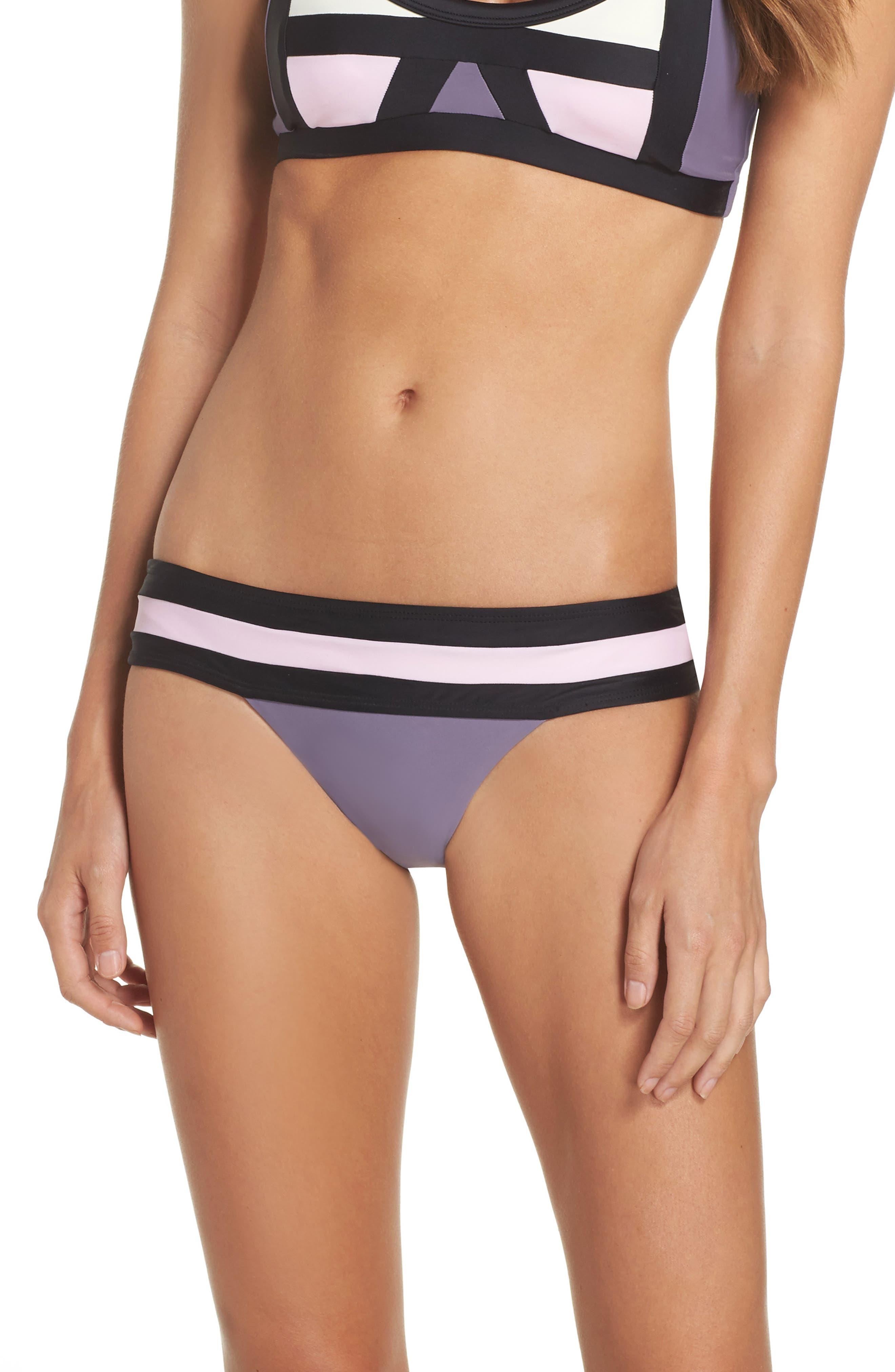 Alternate Image 1 Selected - PilyQ Swimwear Bikini Bottoms