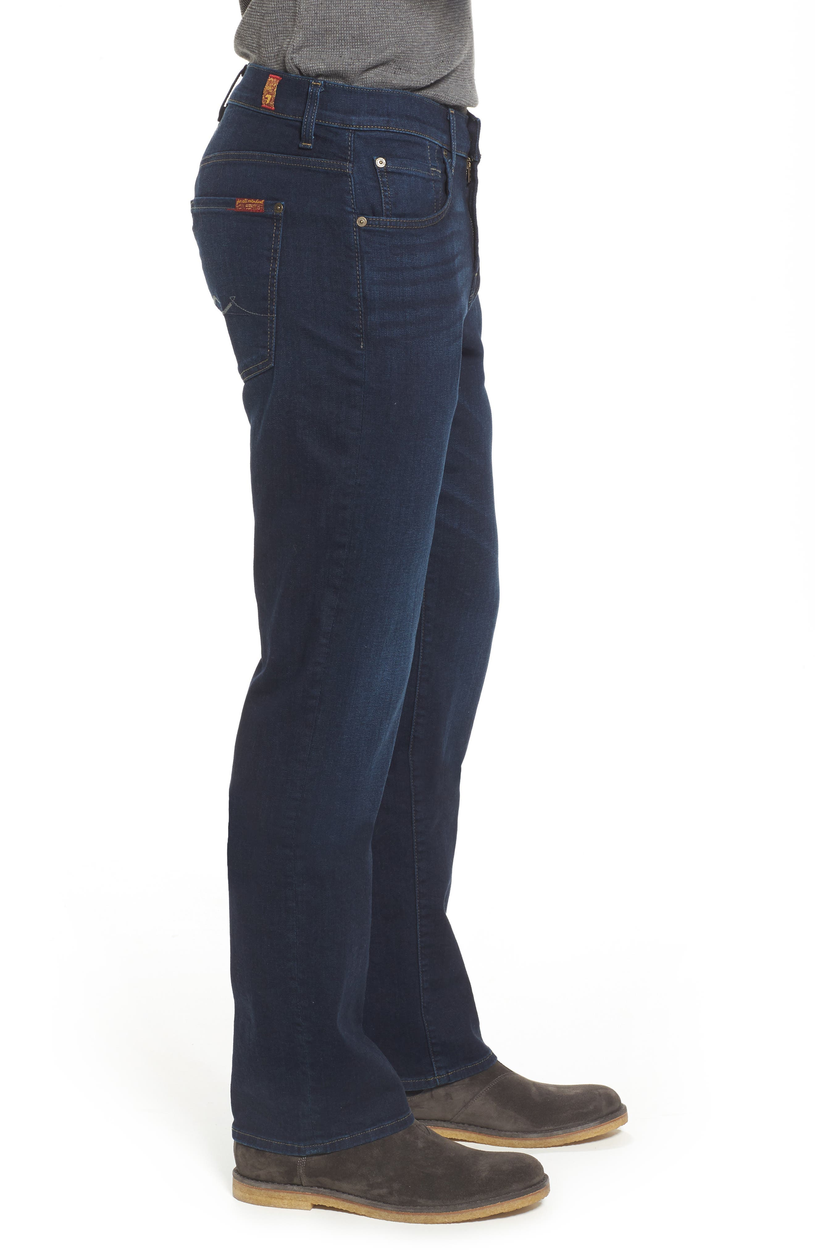 Alternate Image 3  - 7 For All Mankind® Austyn Relaxed Fit Jeans (After Hours)