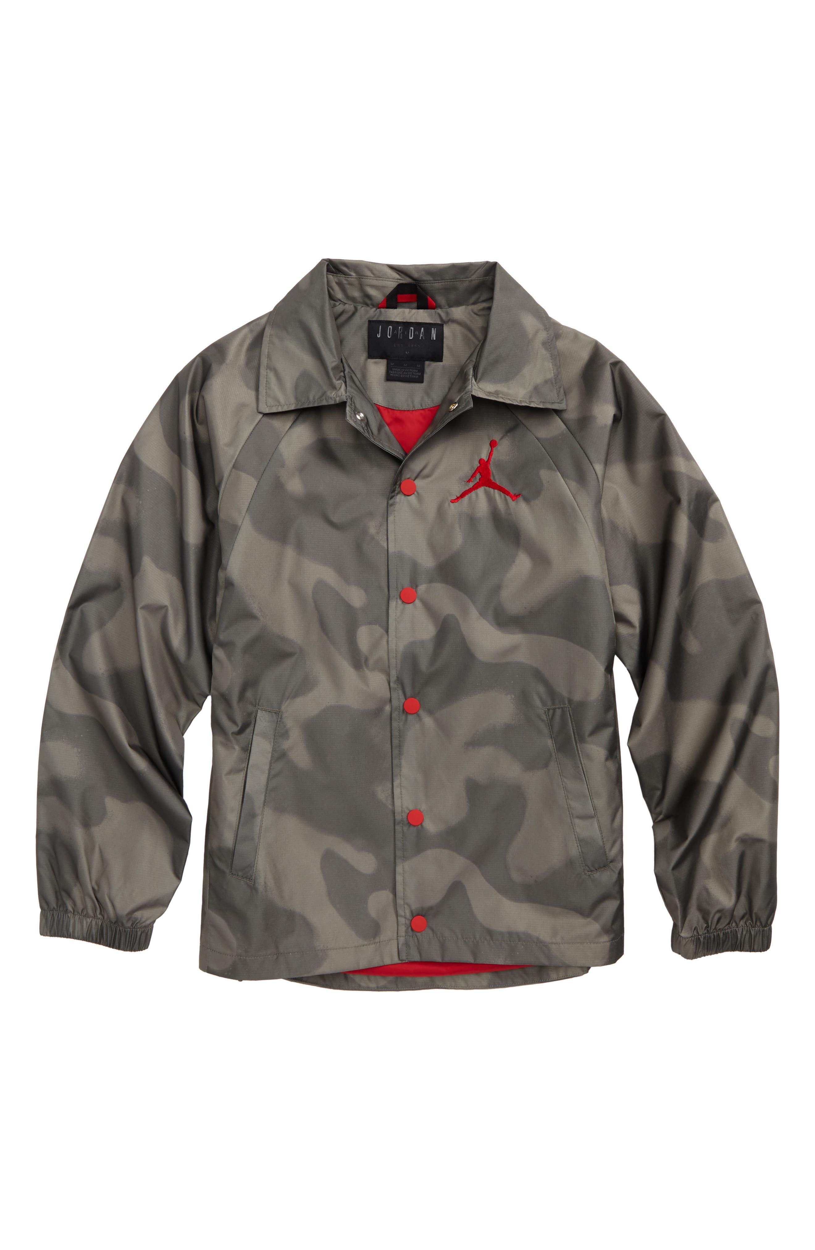 Main Image - Jordan Wings Coach's Jacket (Big Boys)