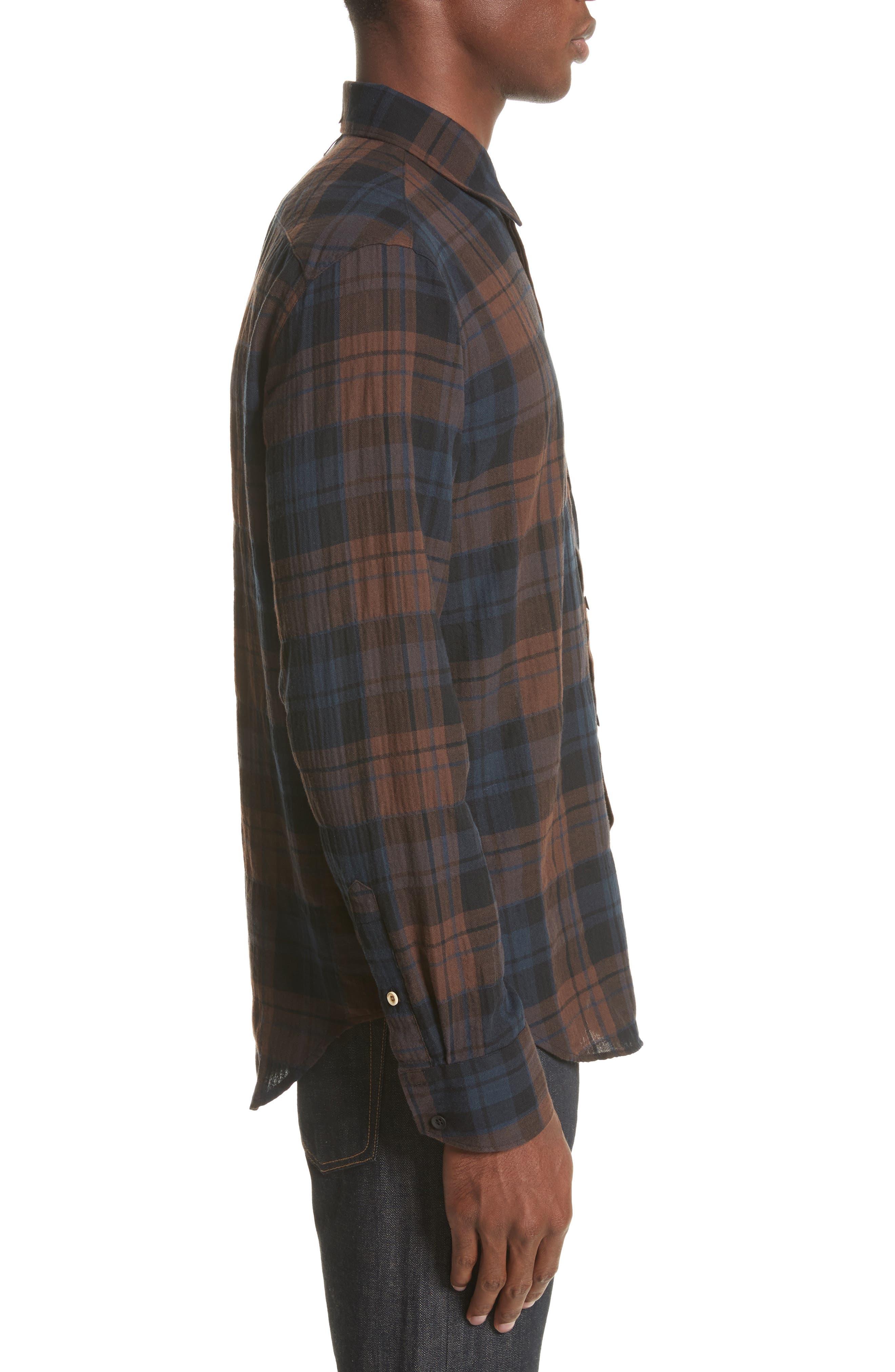 Alternate Image 3  - rag & bone Fit 3 Base Flannel Shirt