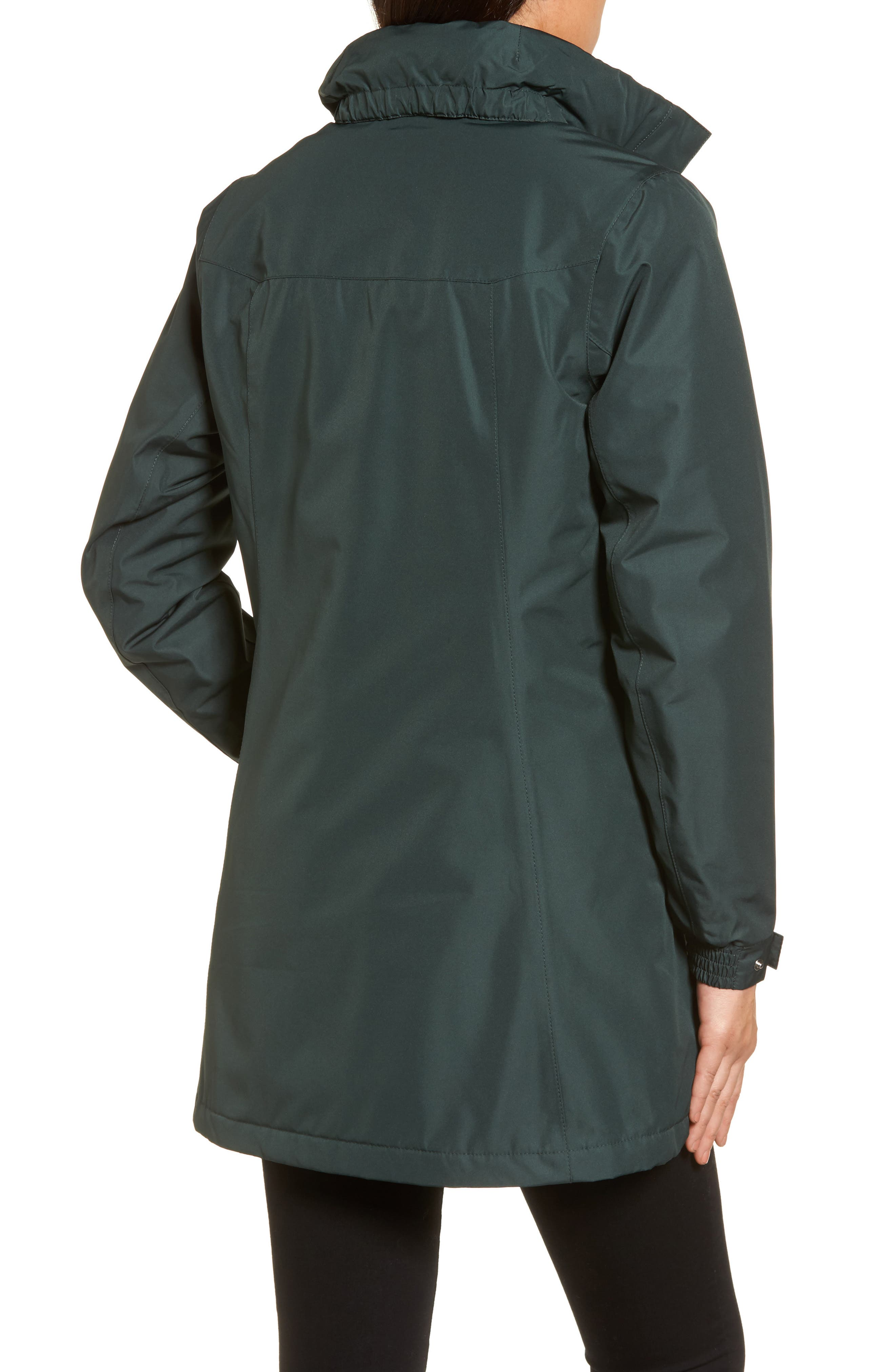 Alternate Image 2  - Helly Hansen Aden Hooded Insulated Rain Jacket