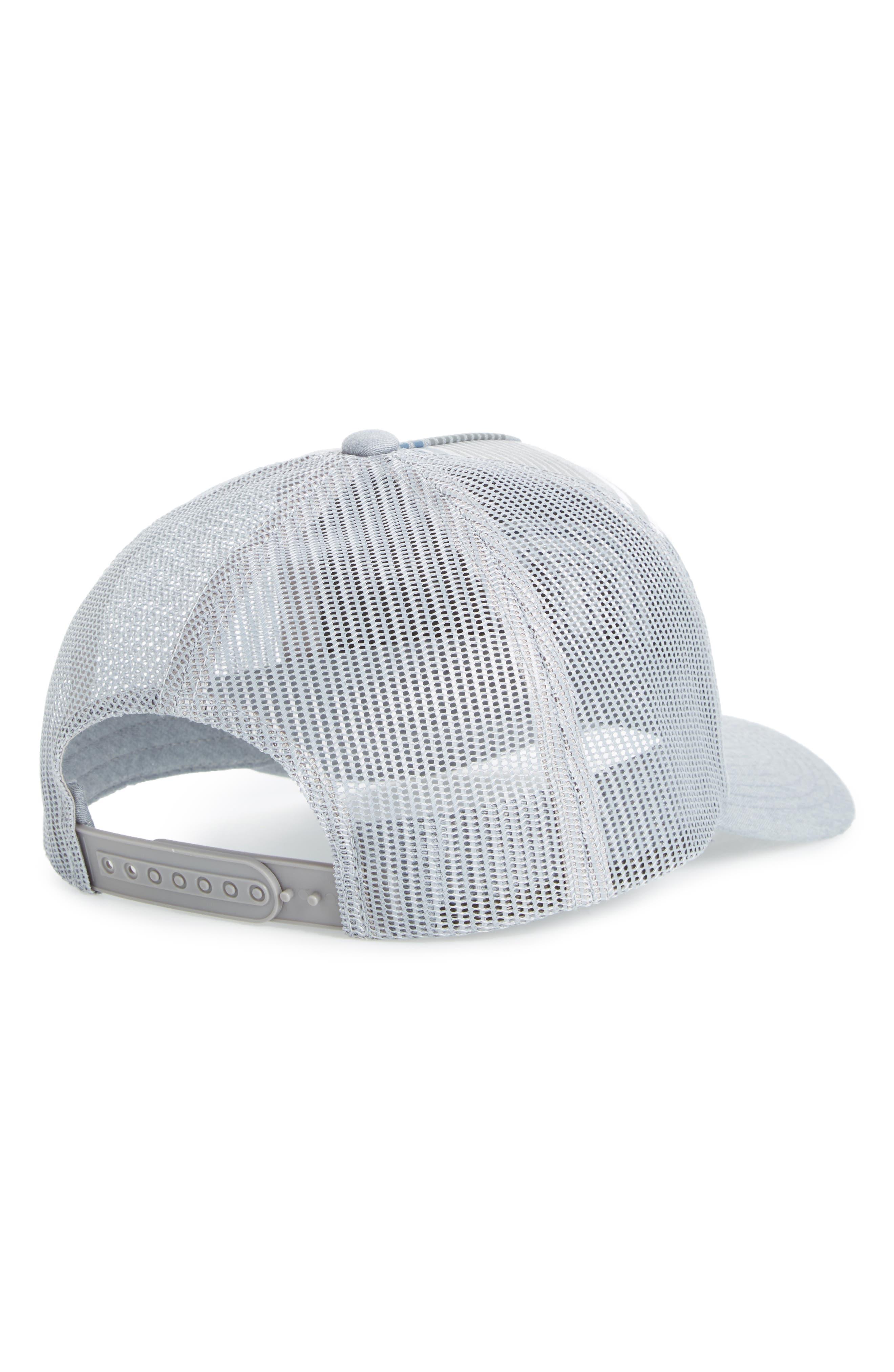 Kubiak Snapback Trucker Hat,                             Alternate thumbnail 2, color,                             Heather Quiet Shade