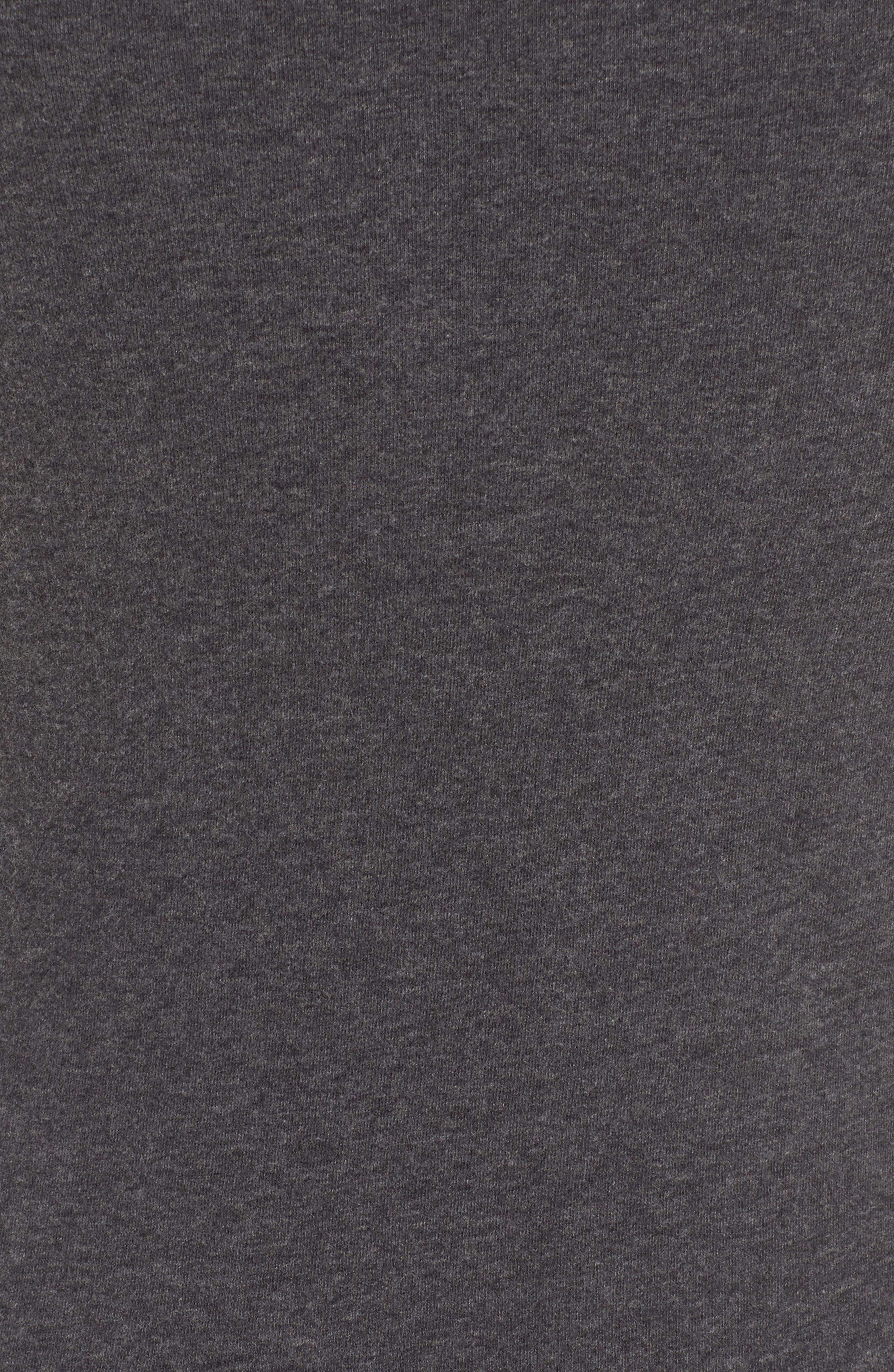Alternate Image 5  - James Perse Brushed Jersey Tee