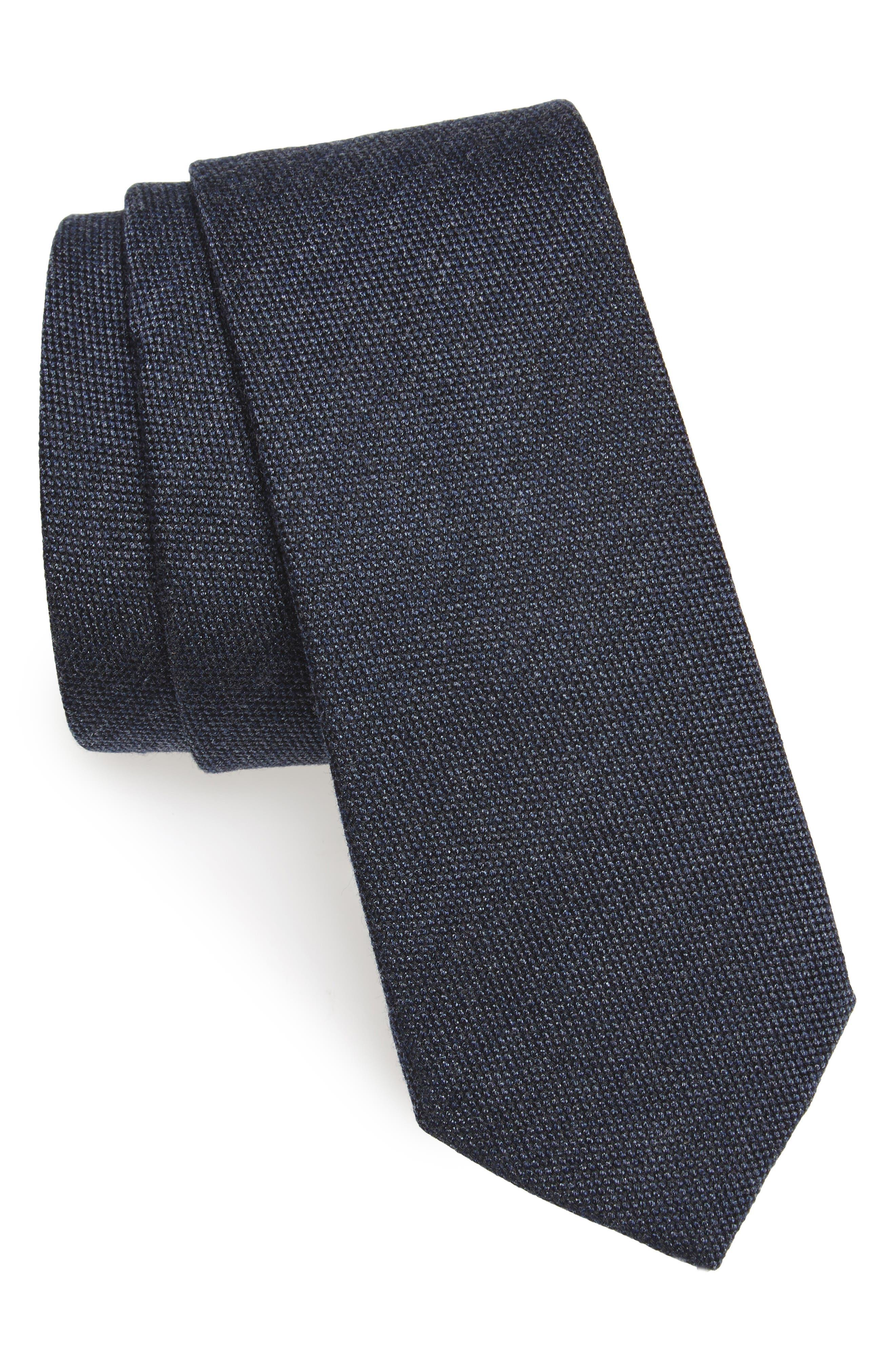 Nordstrom Men's Shop Solid Skinny Tie
