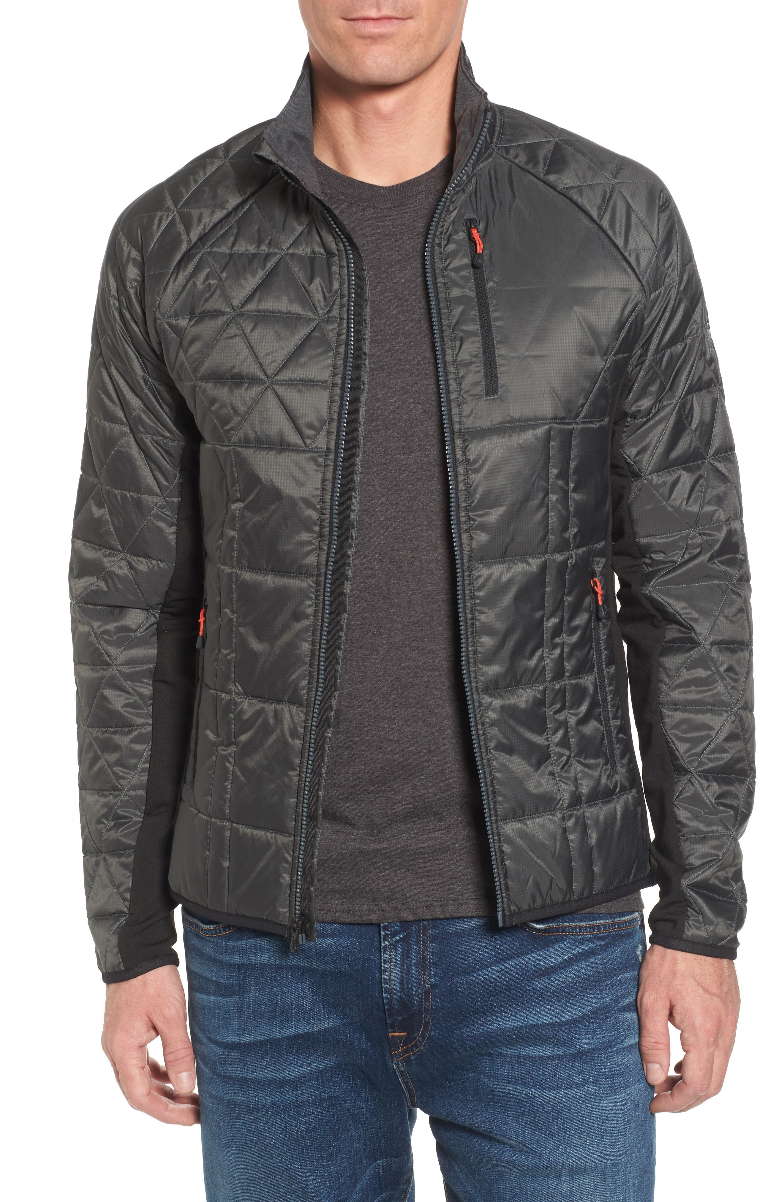 Double Corbet 120 Water Resistant Quilted Jacket,                         Main,                         color, Graphite