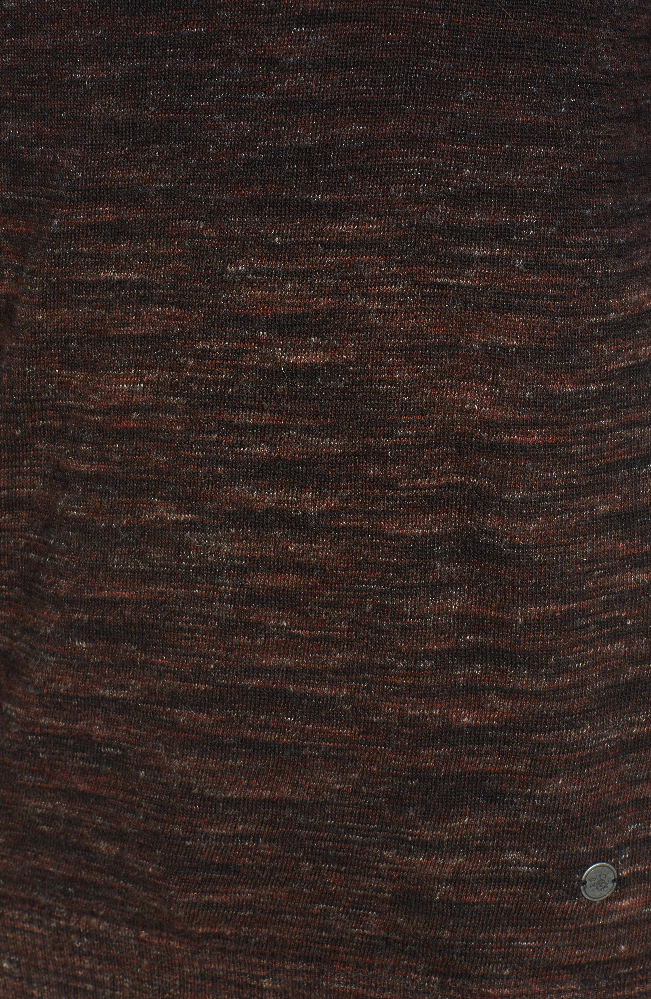 Regular Fit Dip Dye Turtleneck,                             Alternate thumbnail 5, color,                             Amber