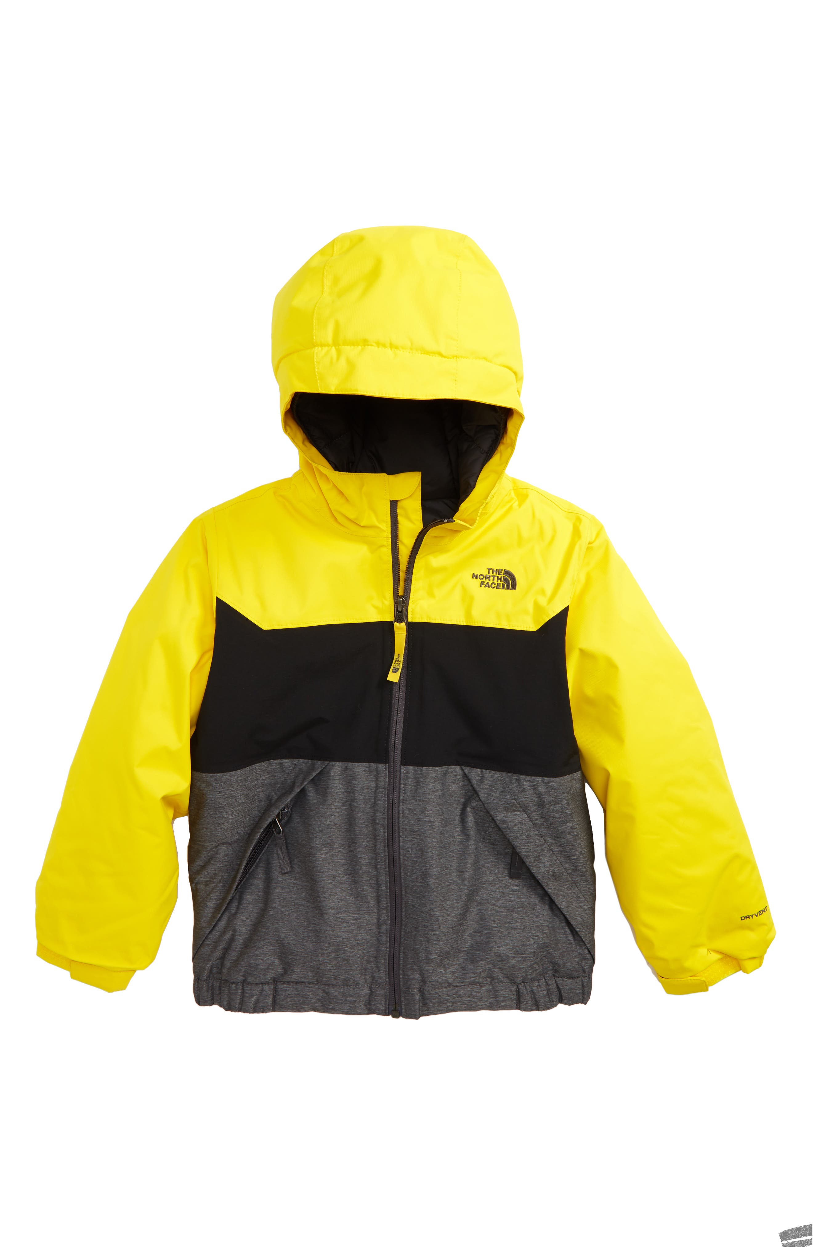 Brayden Heatseeker<sup>™</sup> Insulated Waterproof & Windproof Jacket,                             Main thumbnail 1, color,                             Canary Yellow