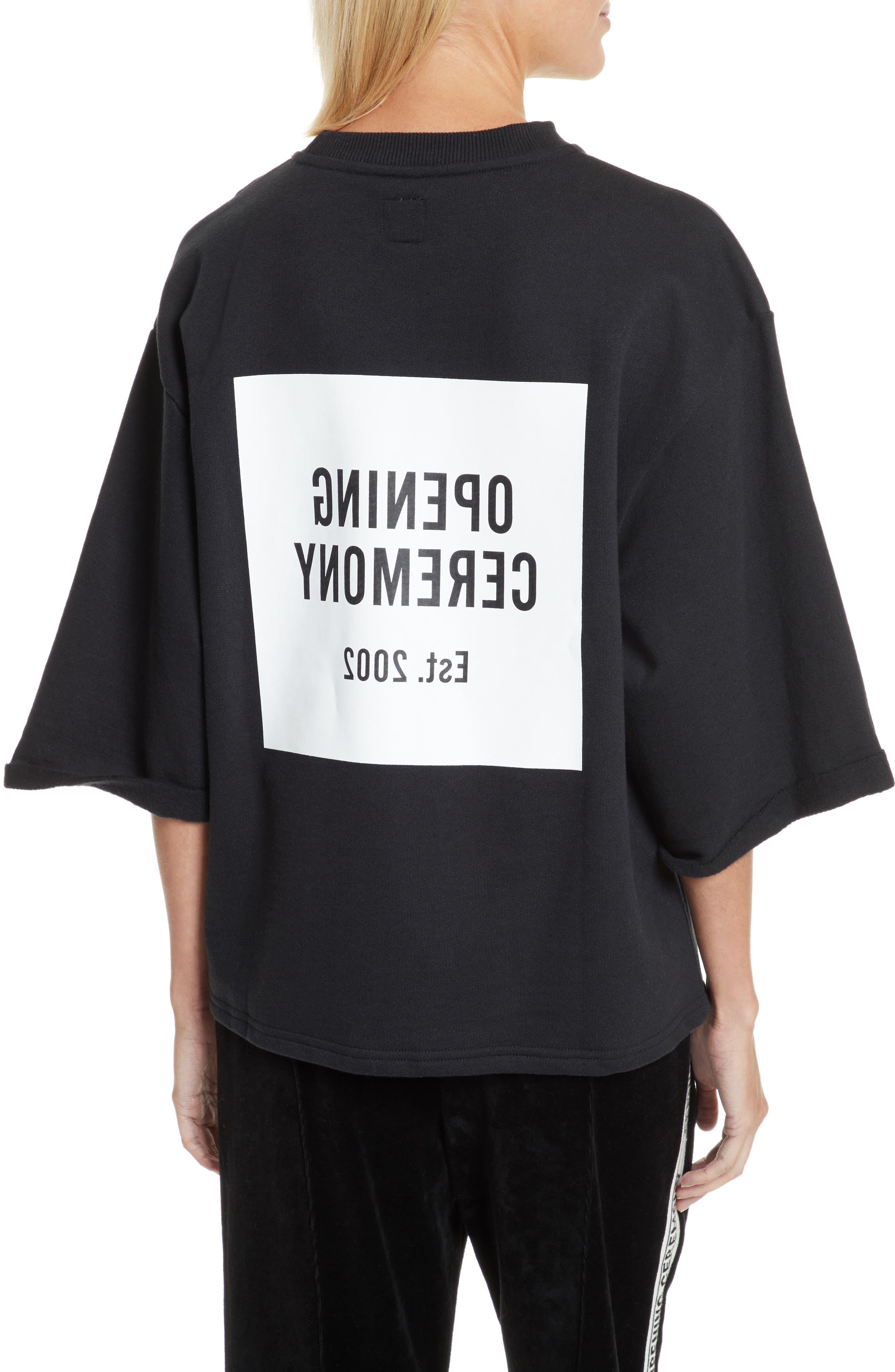 Alternate Image 2  - Opening Ceremony Logo Sweatshirt Tee