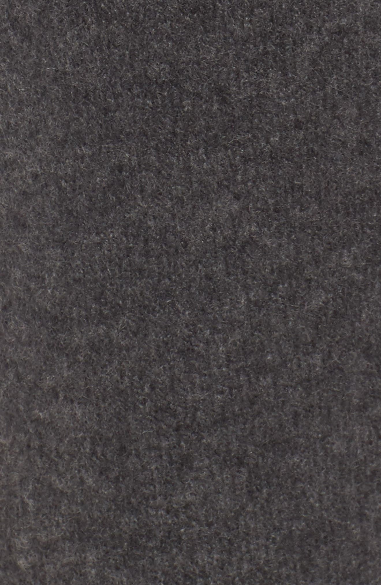 Brushed Cashmere Sweatpants,                             Alternate thumbnail 5, color,                             Charcoal