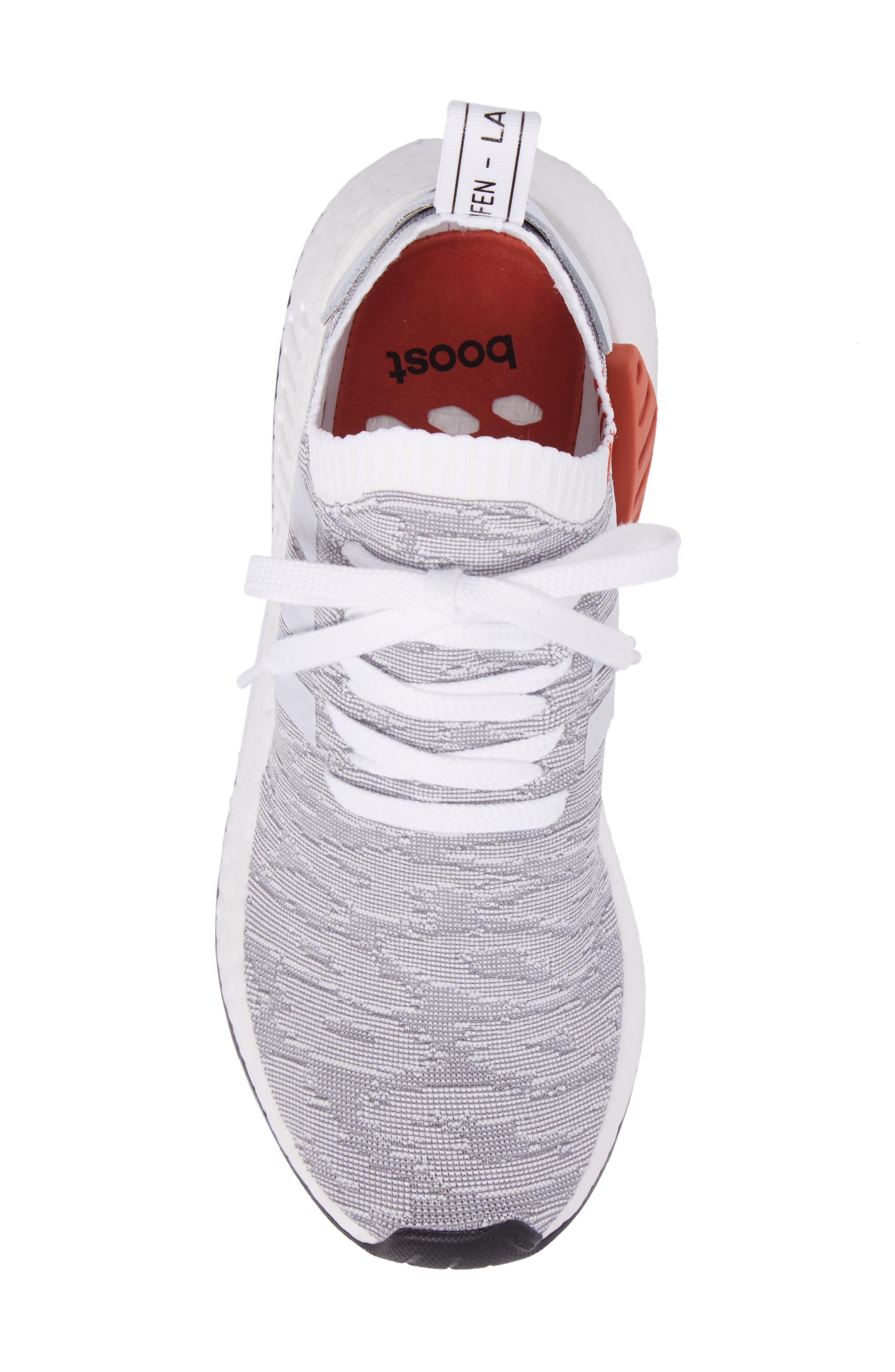 Alternate Image 5  - adidas NMD R2 Primeknit Running Shoe (Men)