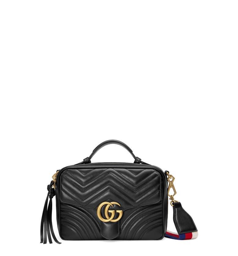 Gucci GG Marmont 2.0 Small Matelasse Original GG Camera