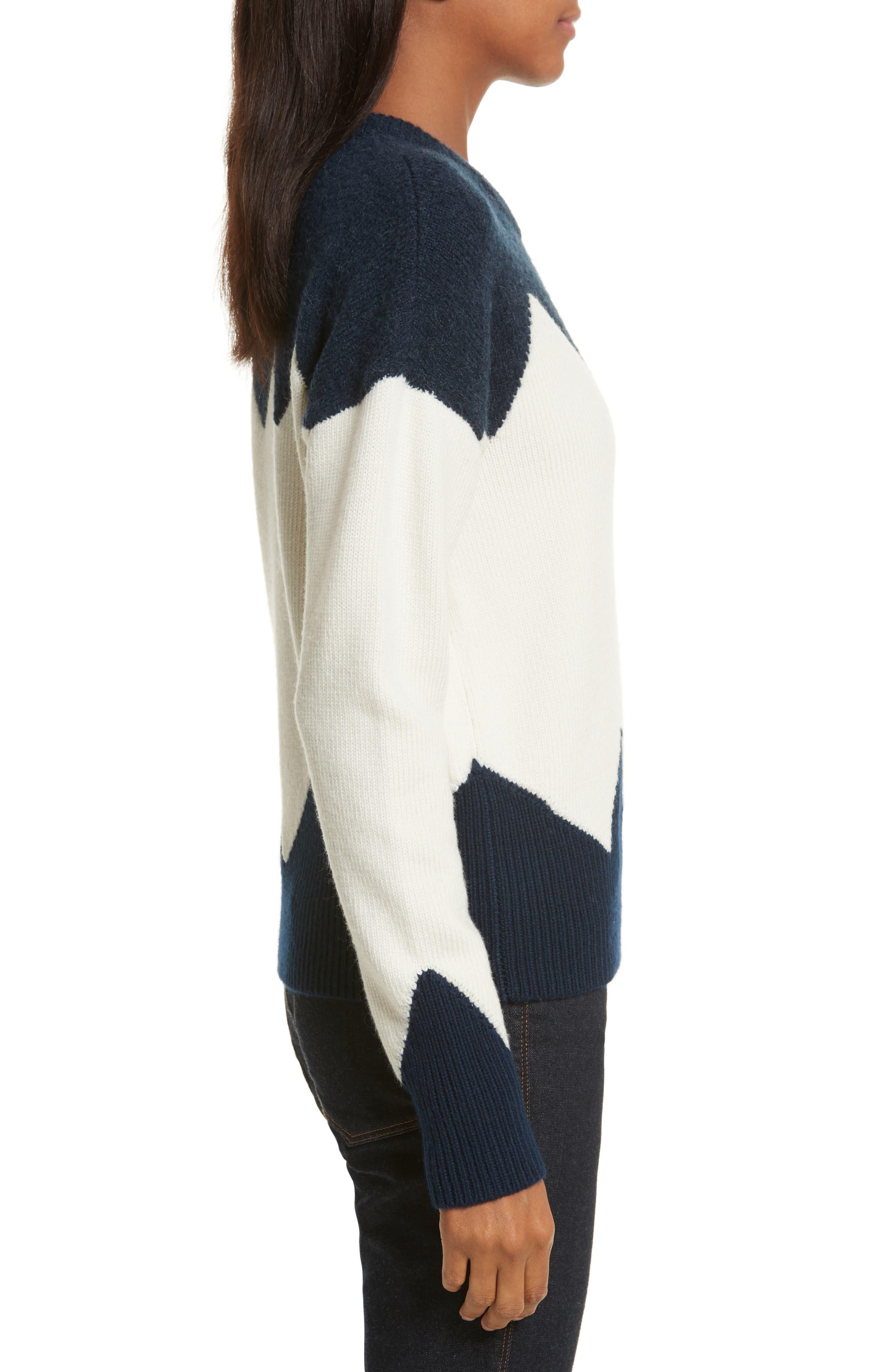 Alternate Image 3  - Tory Burch Hannah Wool Blend Sweater