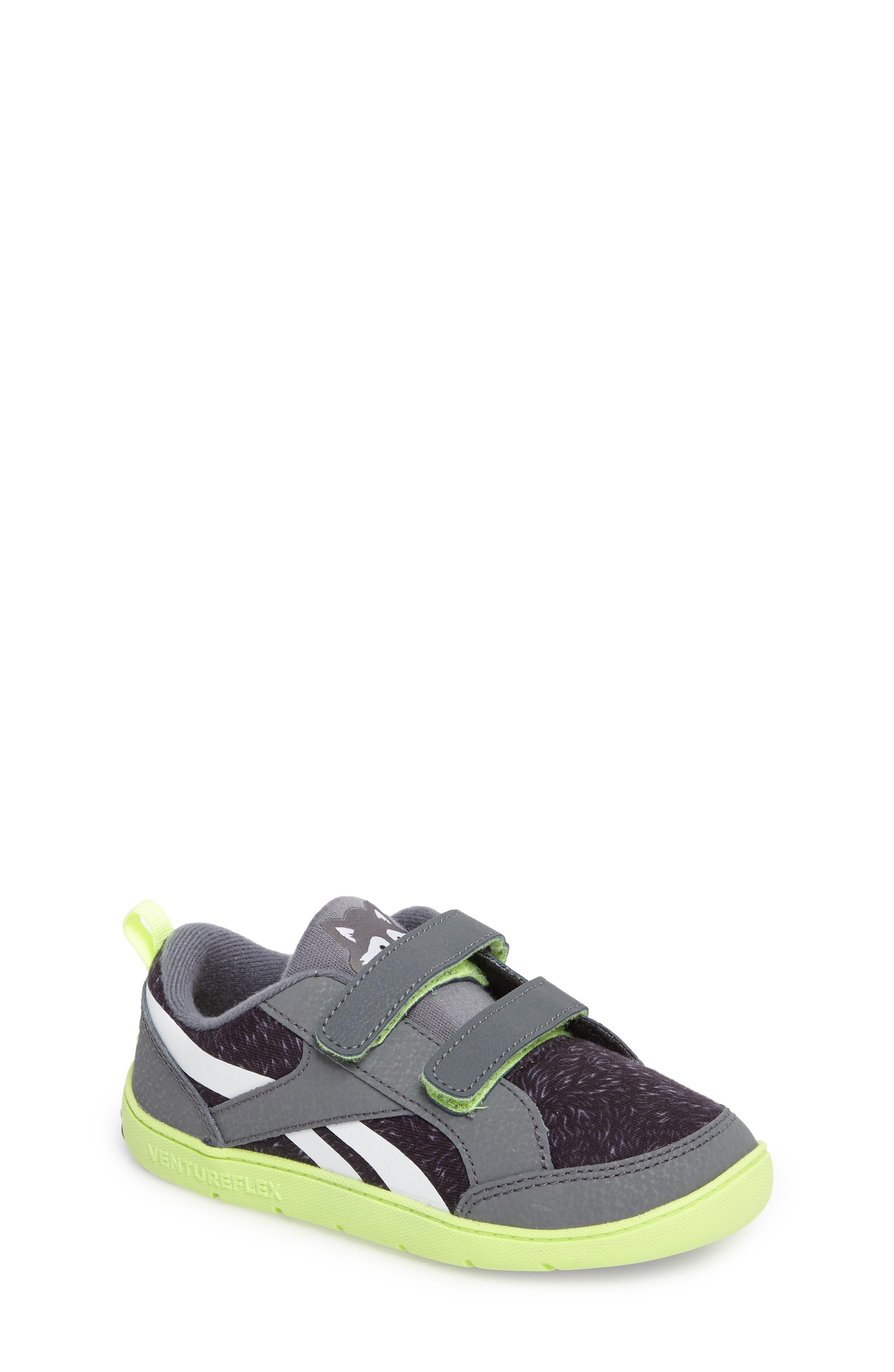 Alternate Image 1 Selected - Reebok Ventureflex Critter Feet Sneaker (Baby, Walker & Toddler)