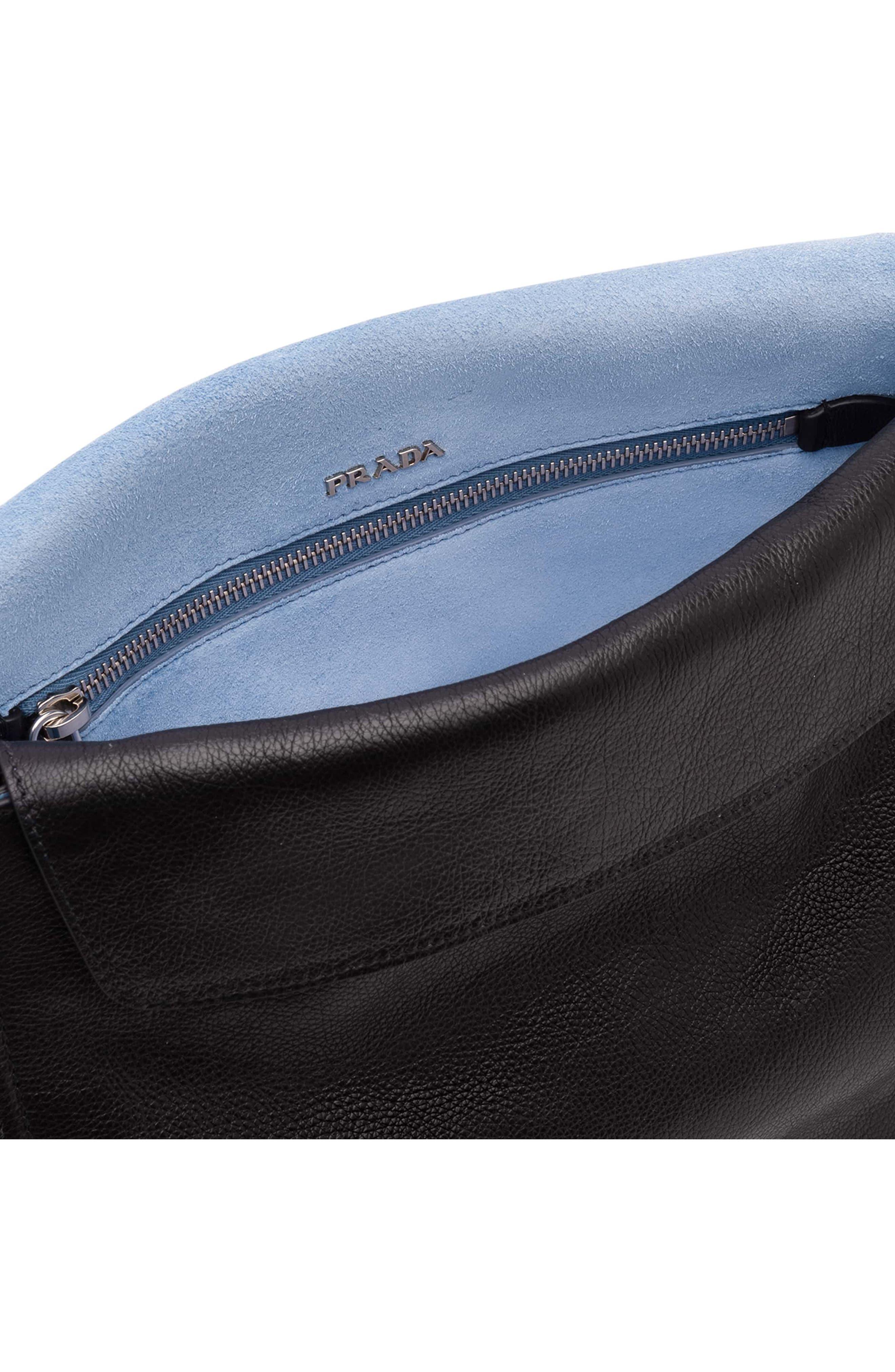 Alternate Image 4  - Prada Cahier Glace Messenger Bag