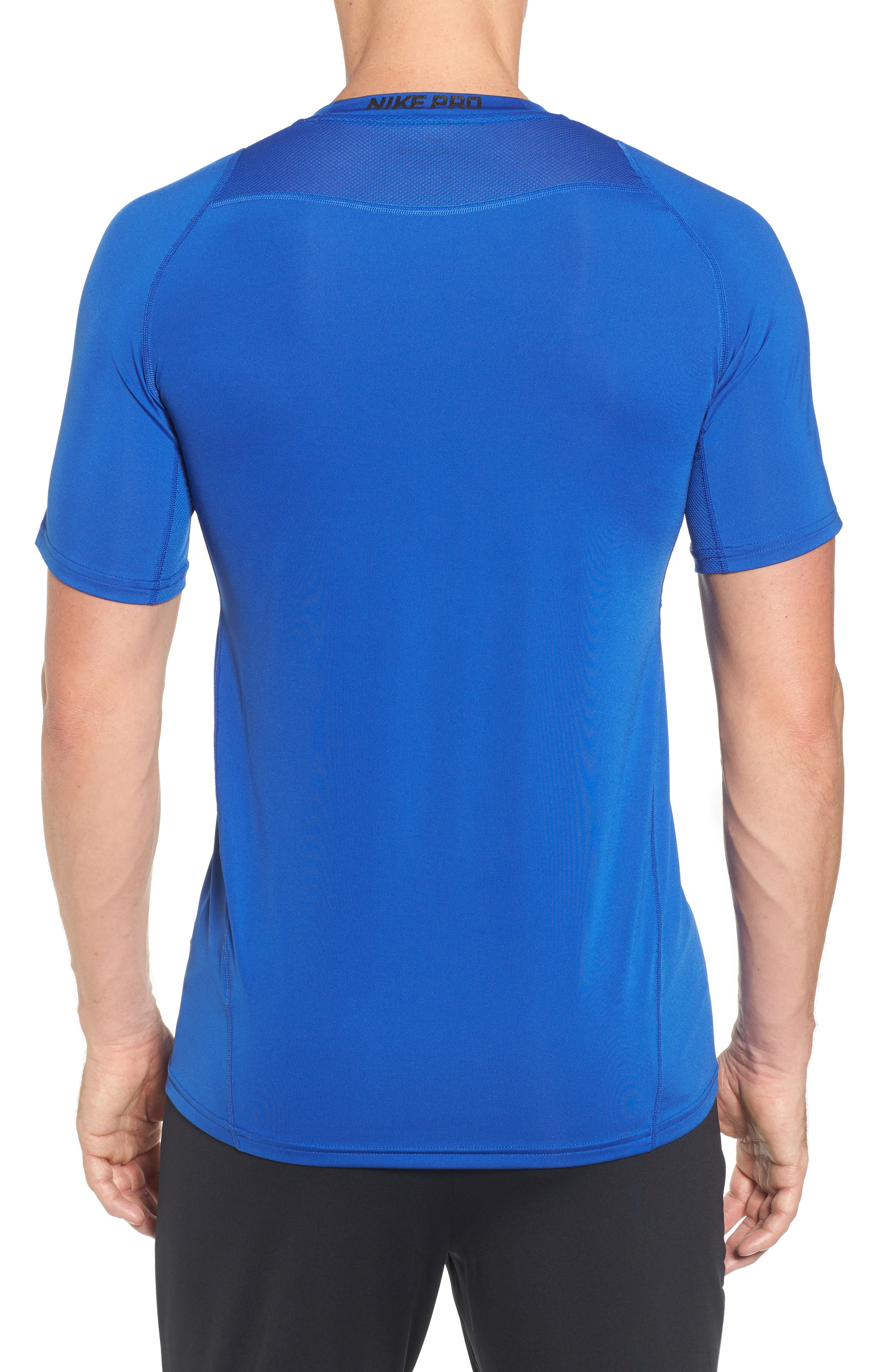 Alternate Image 2  - Nike Pro Fitted T-Shirt