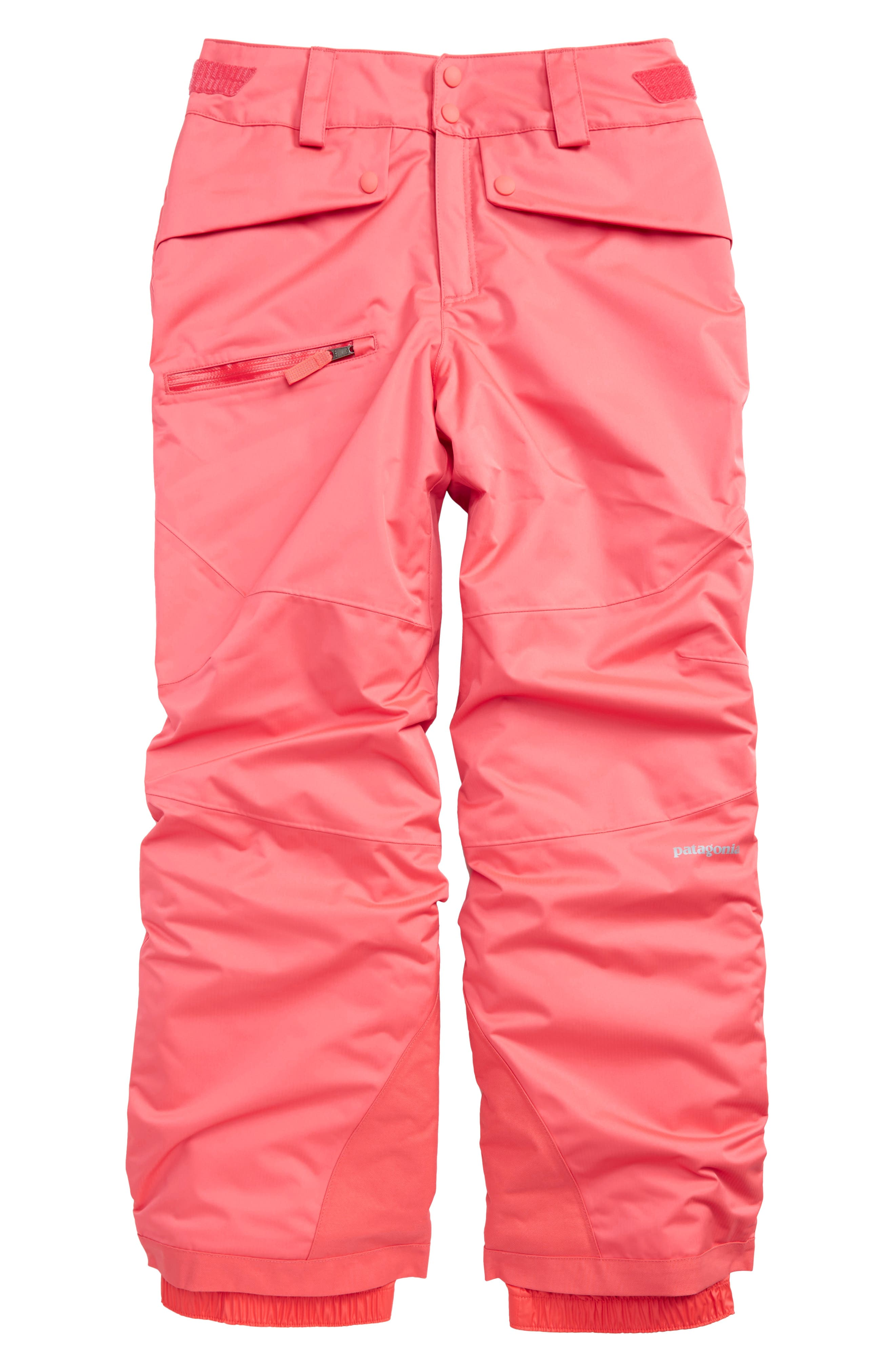Snowbelle Insulated Snow Pants,                             Main thumbnail 1, color,                             Indy Pink