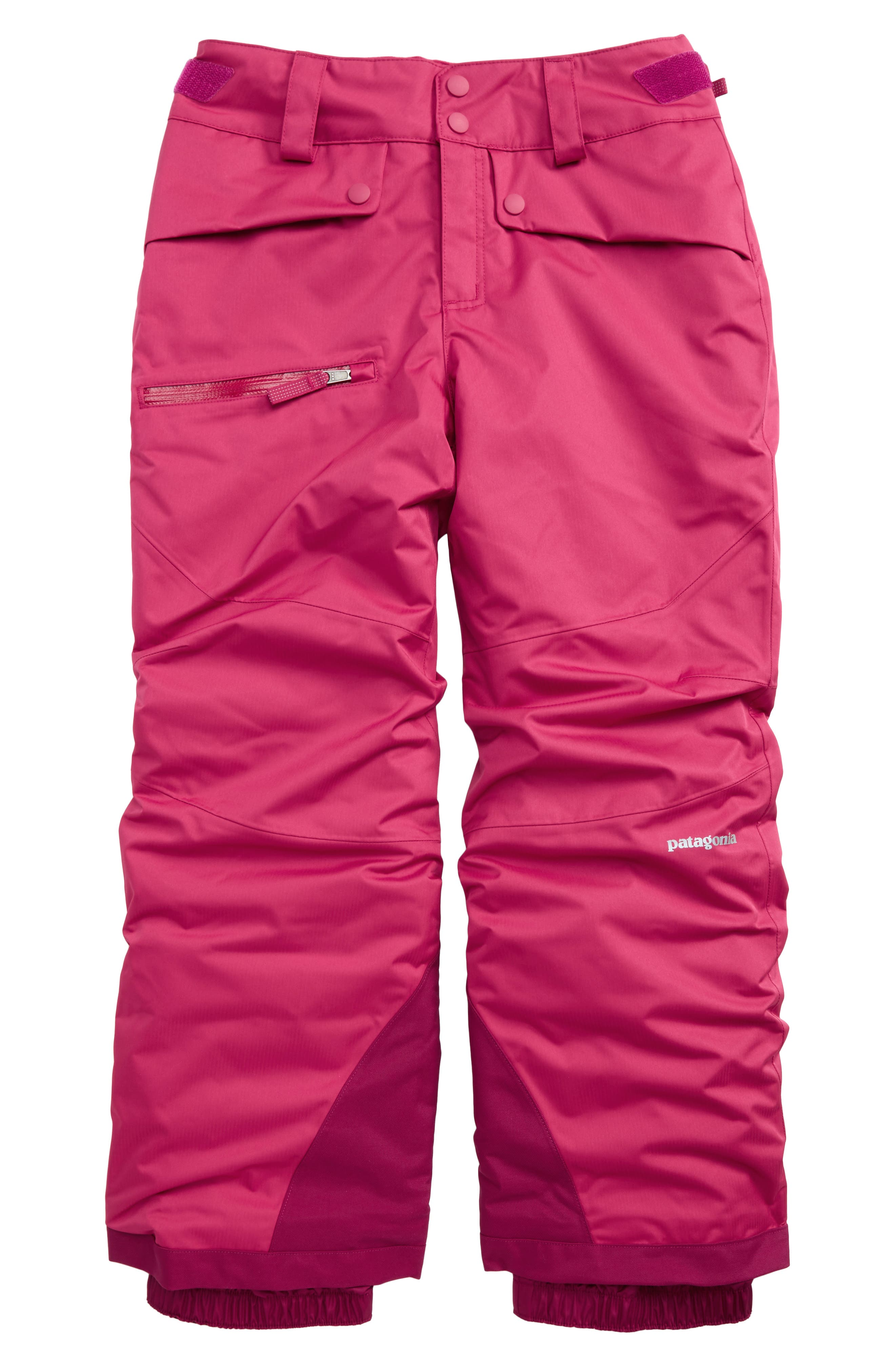 Alternate Image 1 Selected - Patagonia Snowbelle Insulated Snow Pants (Little Girls & Big Girls)