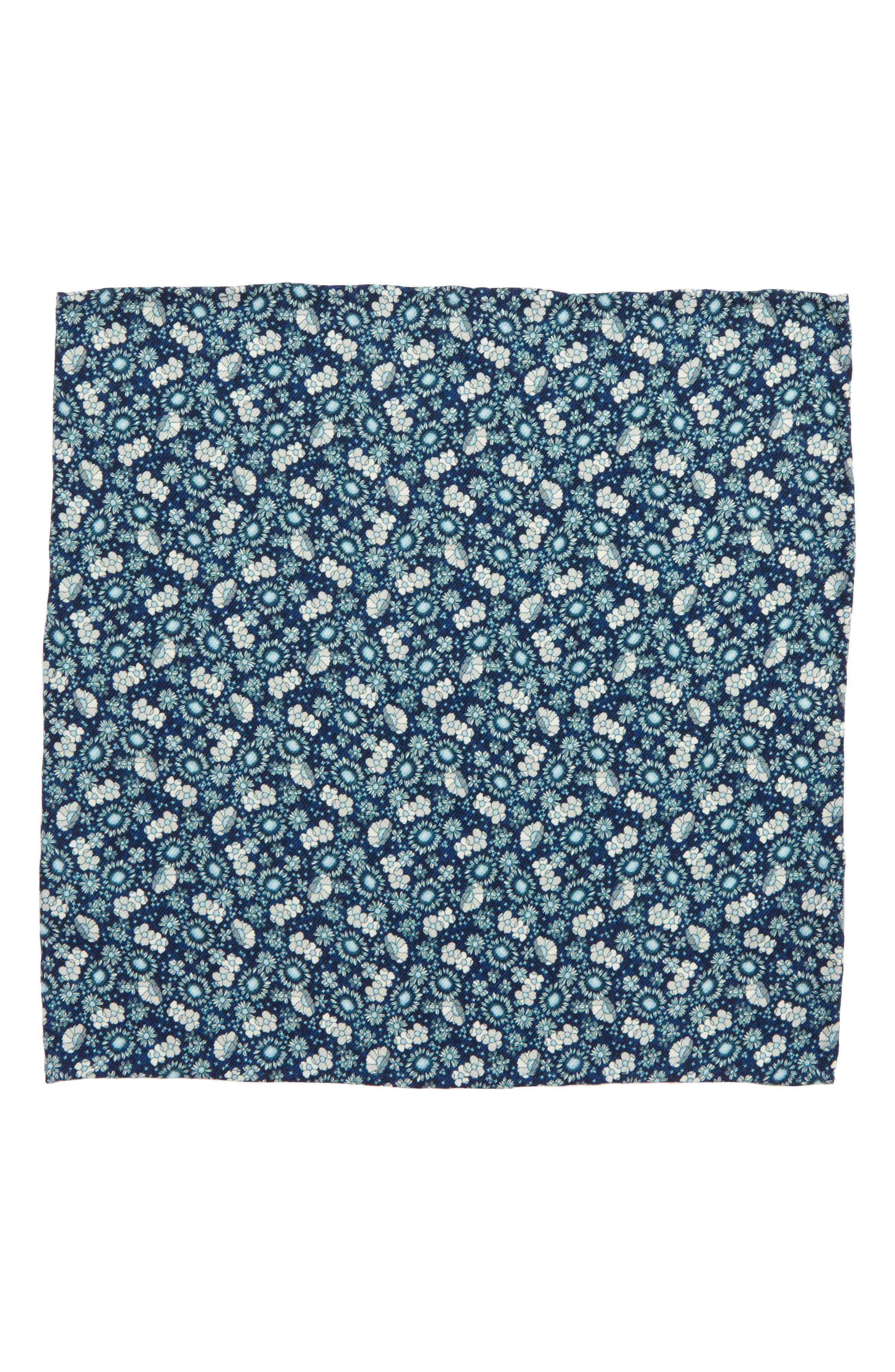 Alternate Image 3  - The Tie Bar Flower City Wool Pocket Square