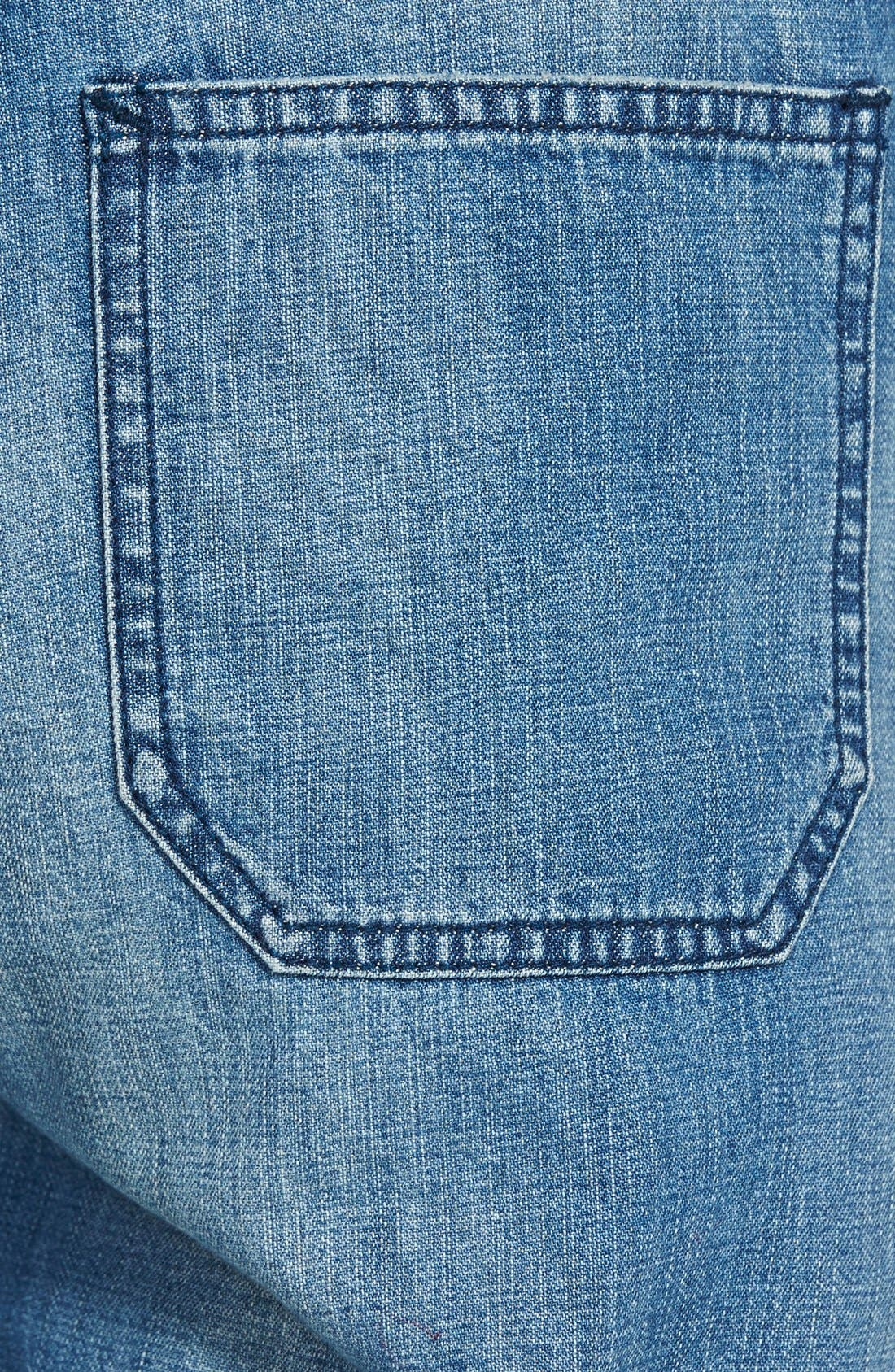 Alternate Image 3  - Madewell 'Park' Denim Overalls (Dixon)