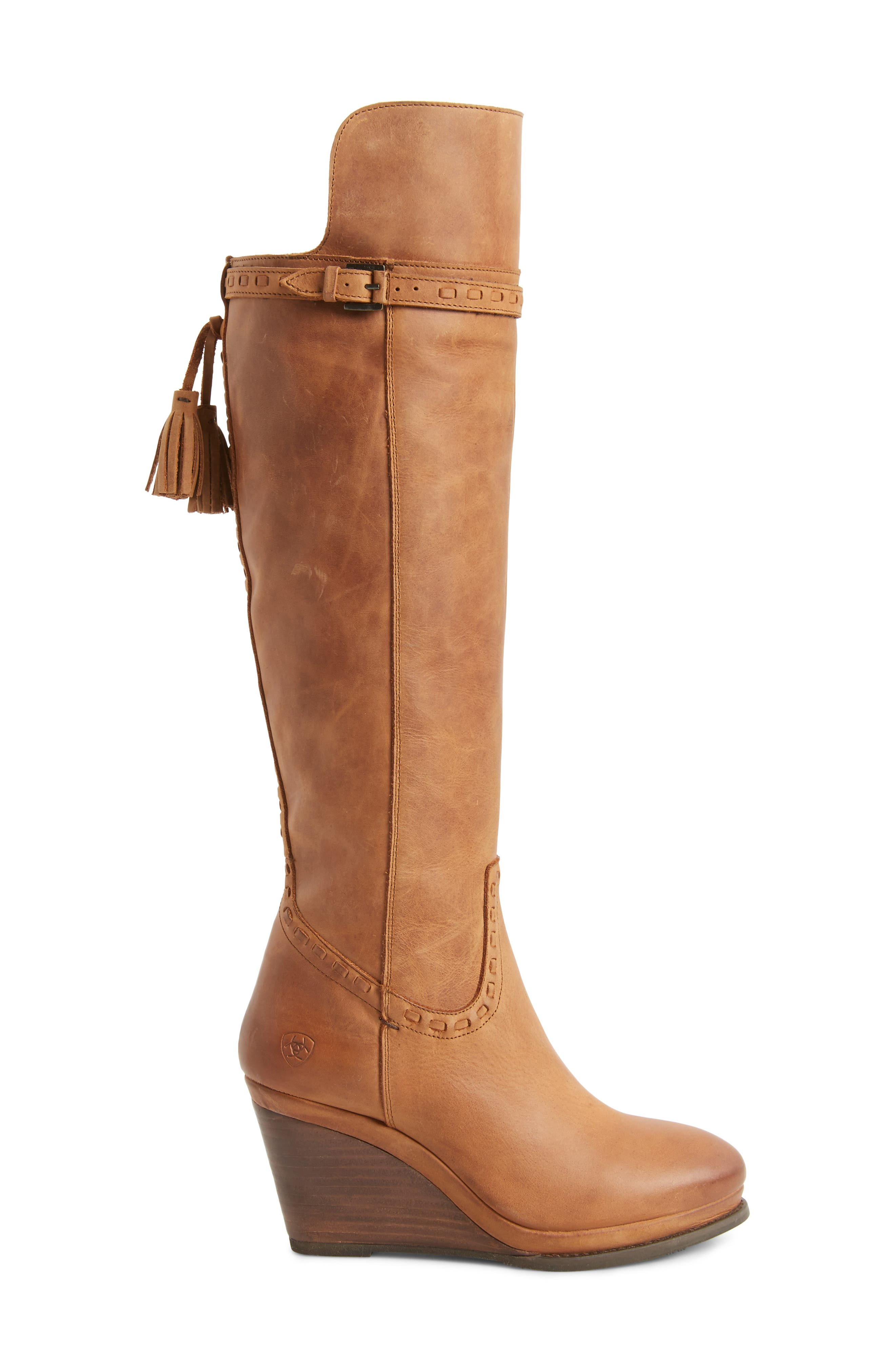 Knoxville Boot,                             Alternate thumbnail 3, color,                             Trendy Tawny Leather