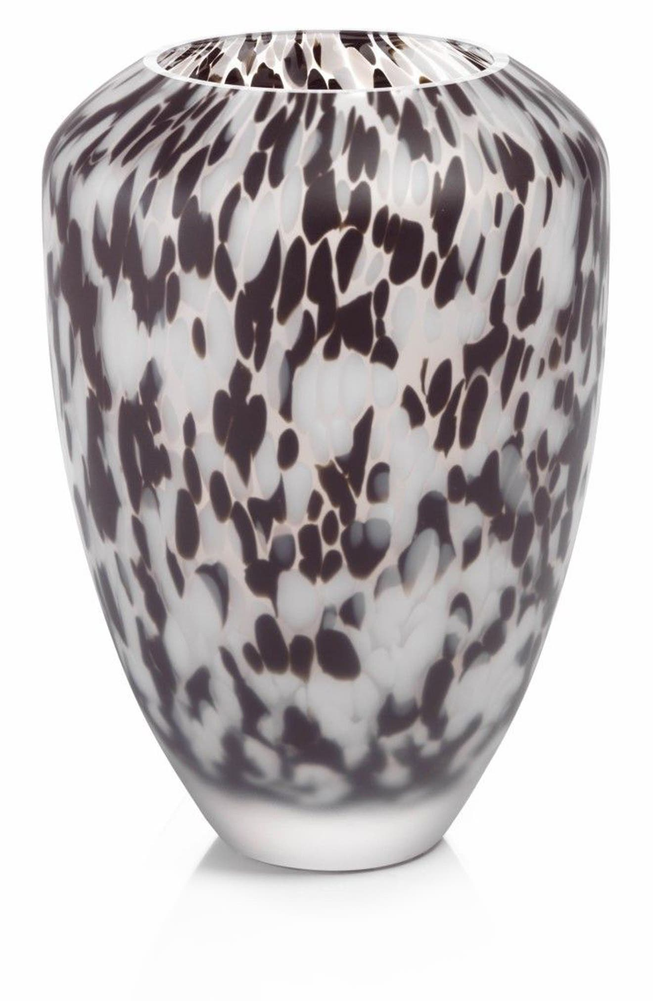 Alternate Image 1 Selected - Zodax Small Confetti Glass Vase