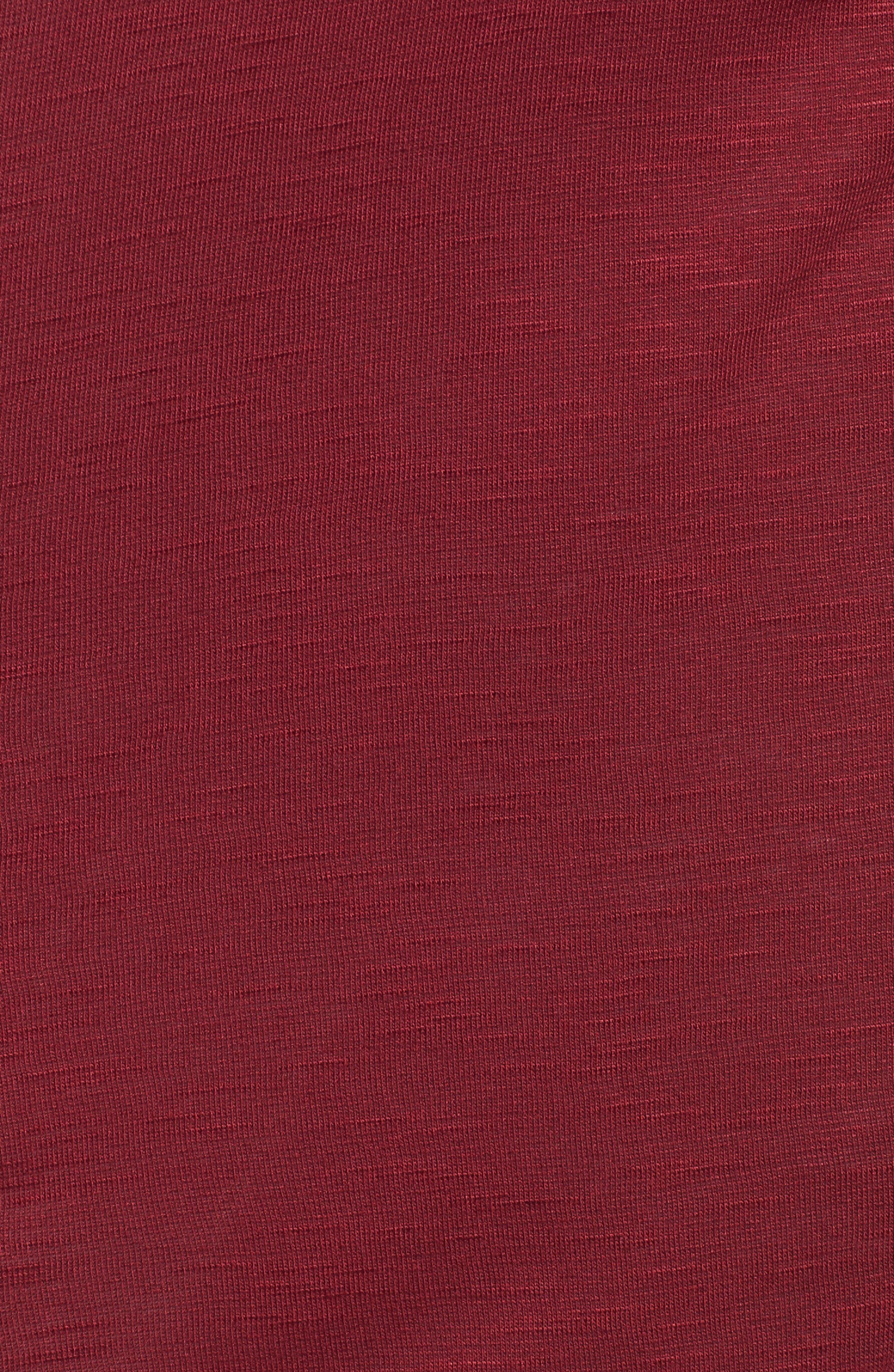 Drapey Pocket Cardigan,                             Alternate thumbnail 5, color,                             Plum