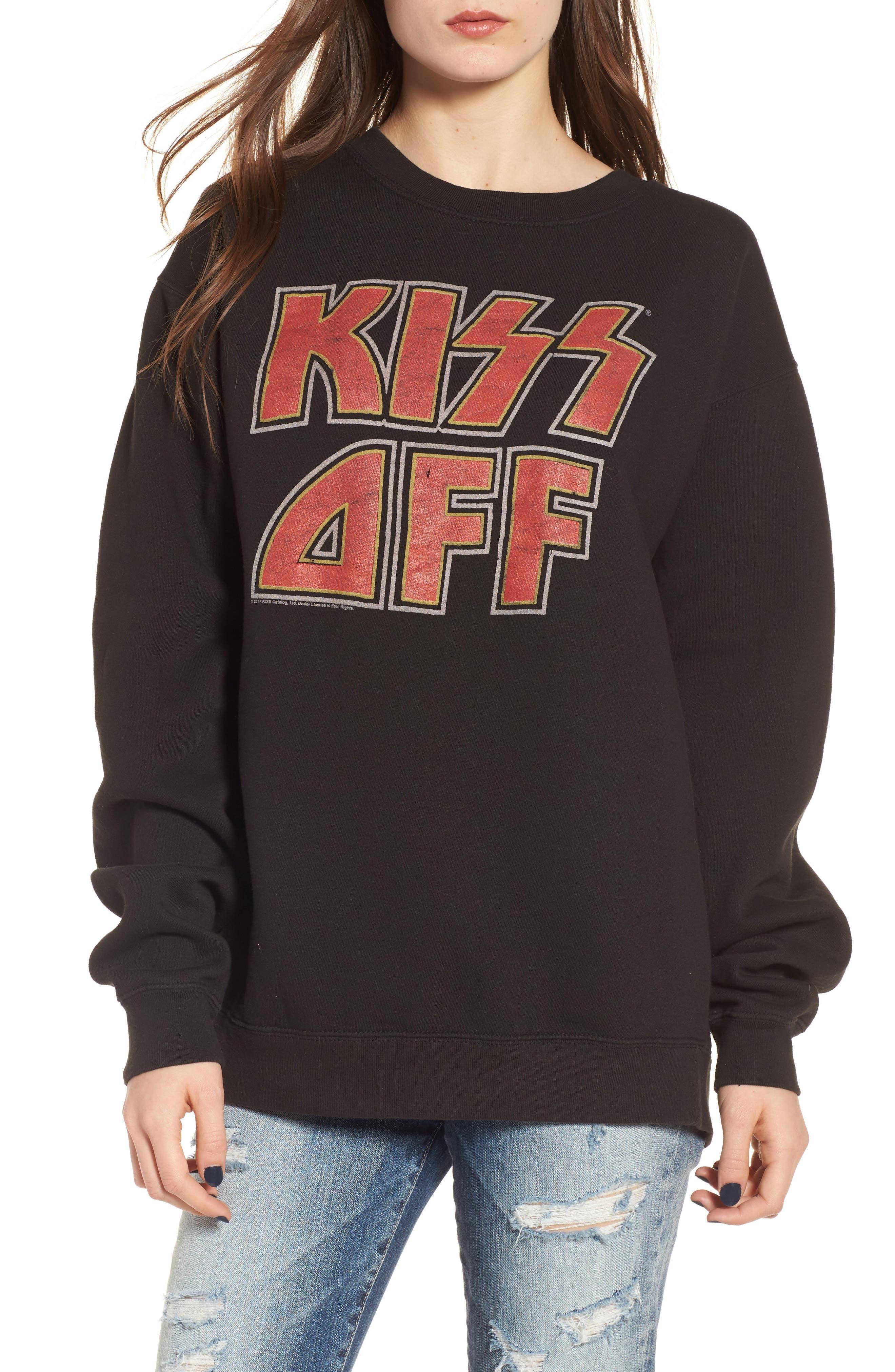 Junkfood Kiss Off Sweatshirt